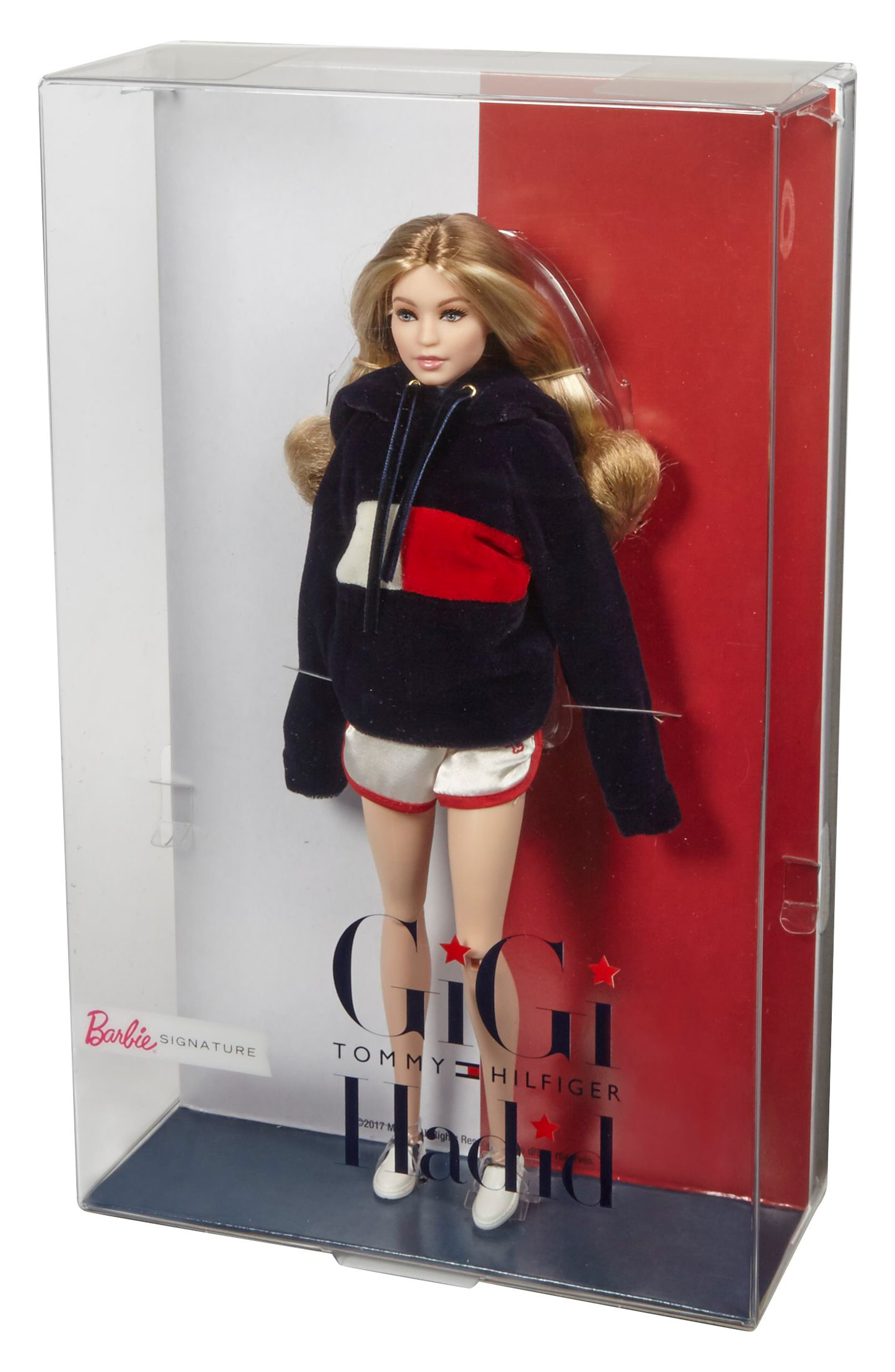 Barbie<sup>®</sup> Signature Tommy Hilfiger x Gigi Hadid Doll,                             Alternate thumbnail 4, color,