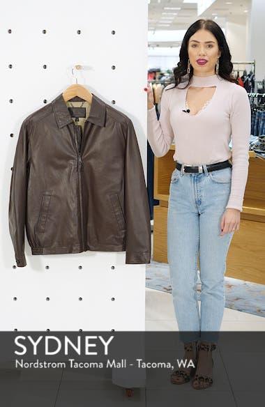 The Bartlett Leather Jacket, sales video thumbnail