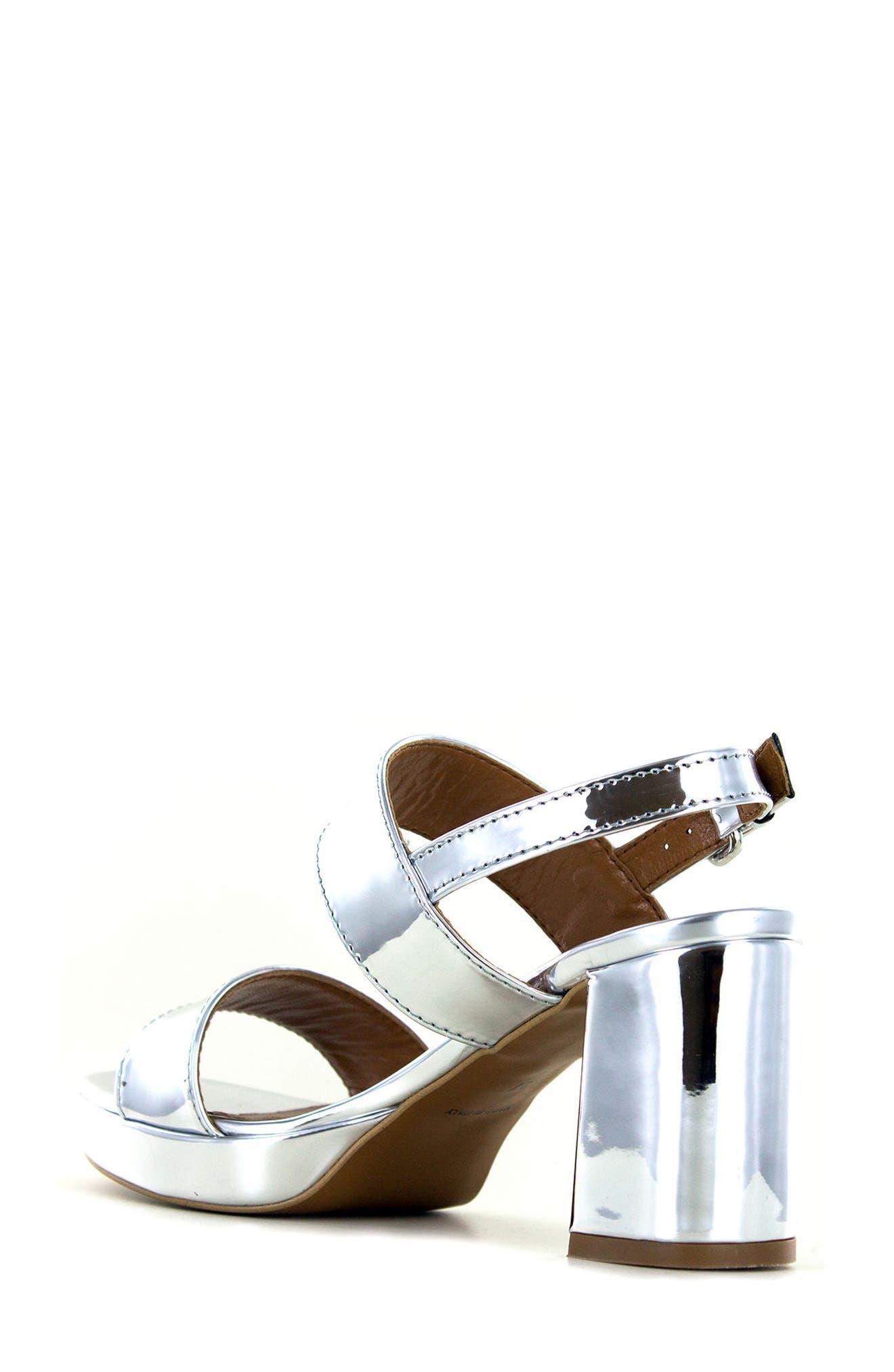 Summit Emilia Block Heel Sandal,                             Alternate thumbnail 5, color,