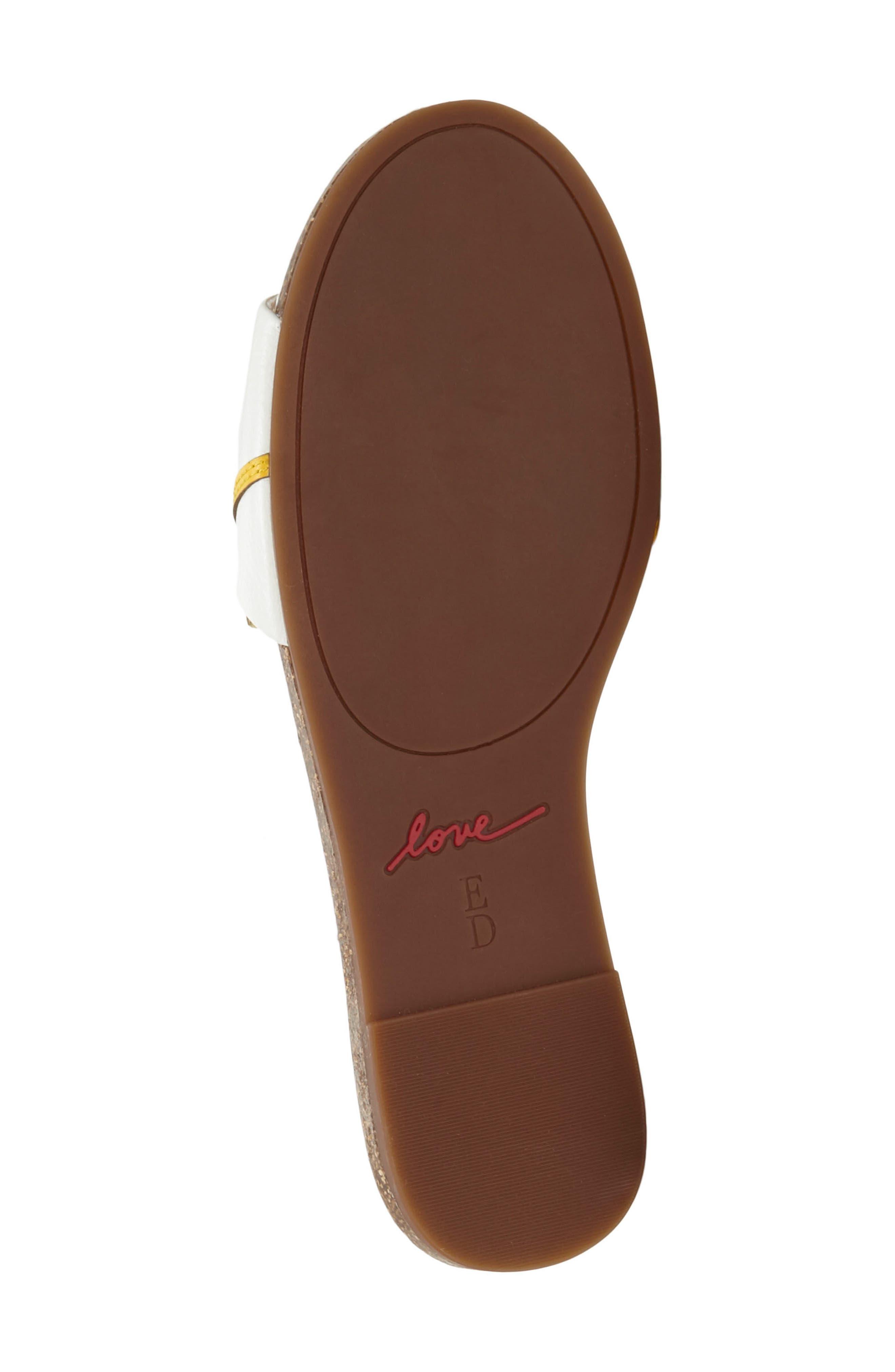 Sharlin Slide Sandal,                             Alternate thumbnail 6, color,                             110
