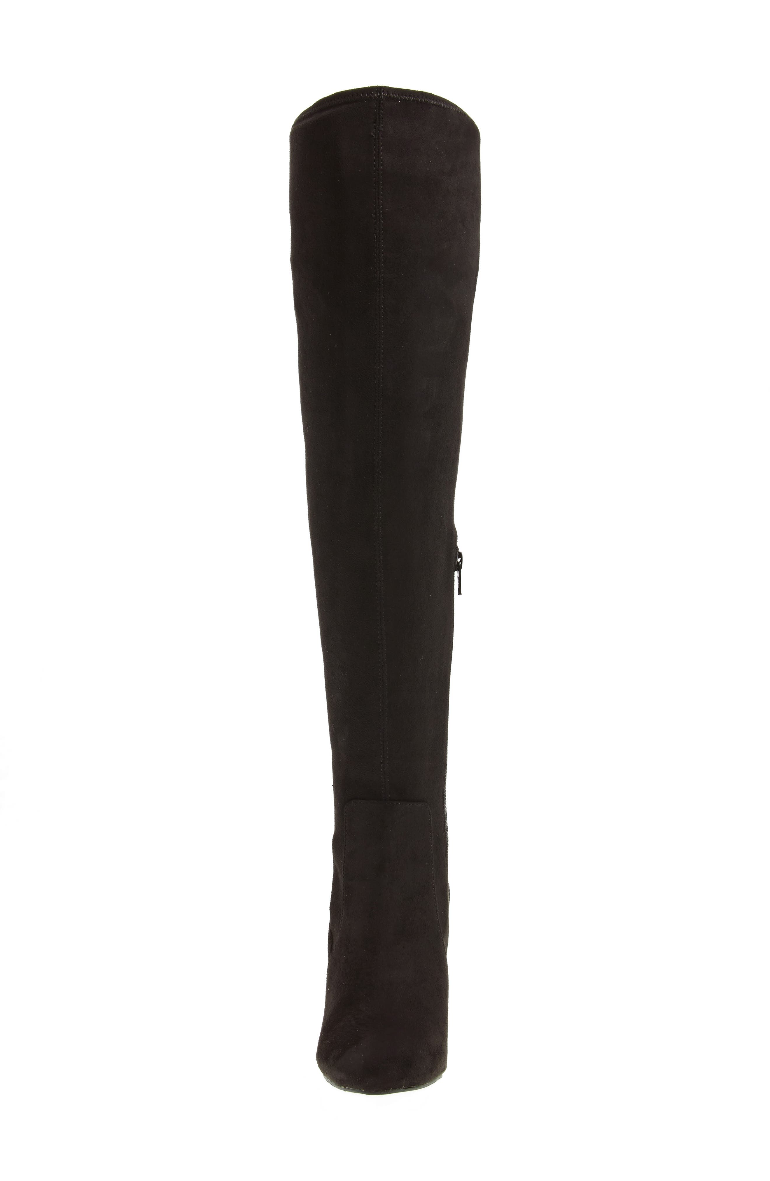 Icelyn Over the Knee Stretch Boot,                             Alternate thumbnail 4, color,                             006