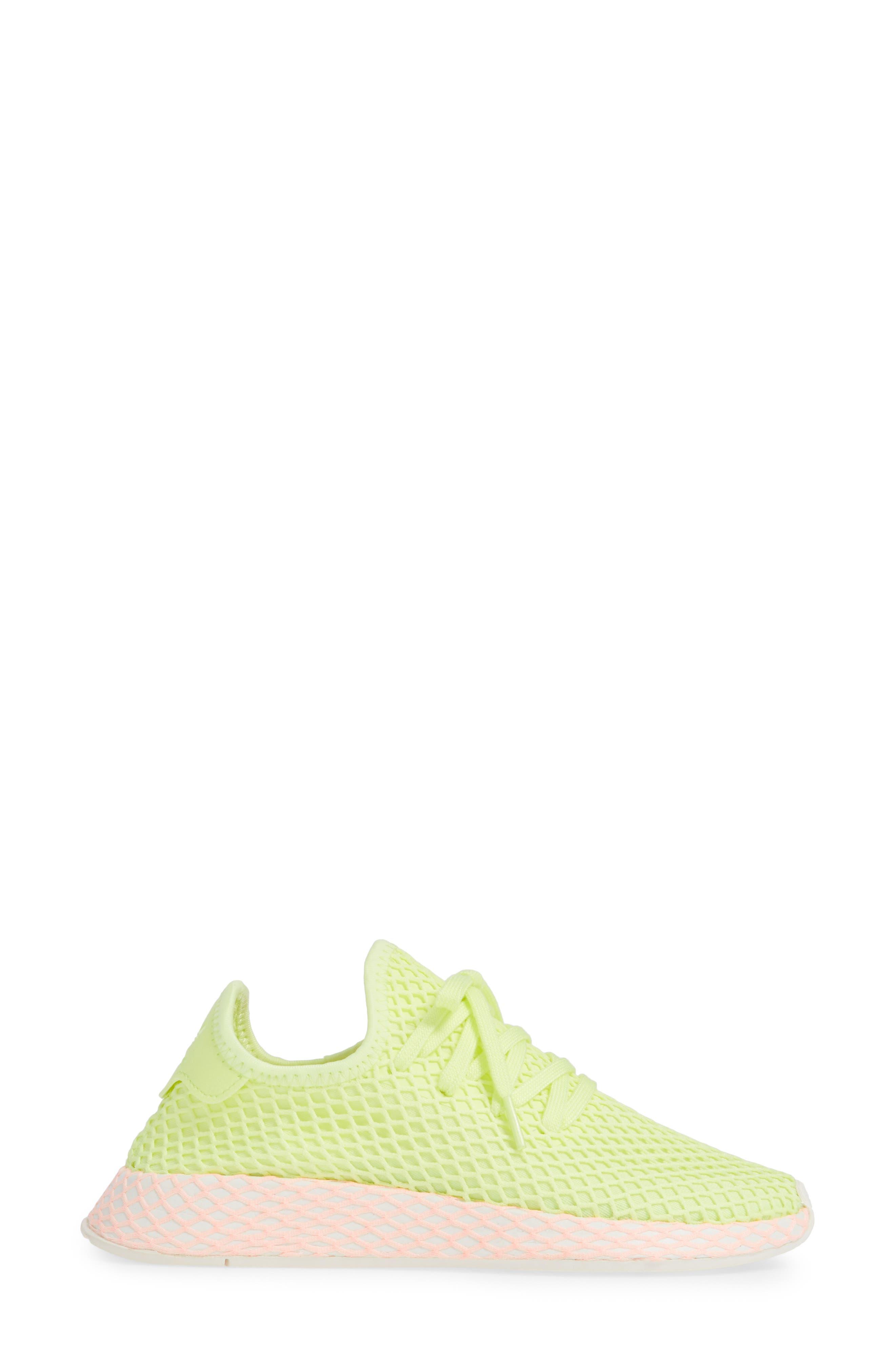 Deerupt Runner Sneaker,                             Alternate thumbnail 3, color,                             GLOW/ GLOW/ CLEAR LILAC