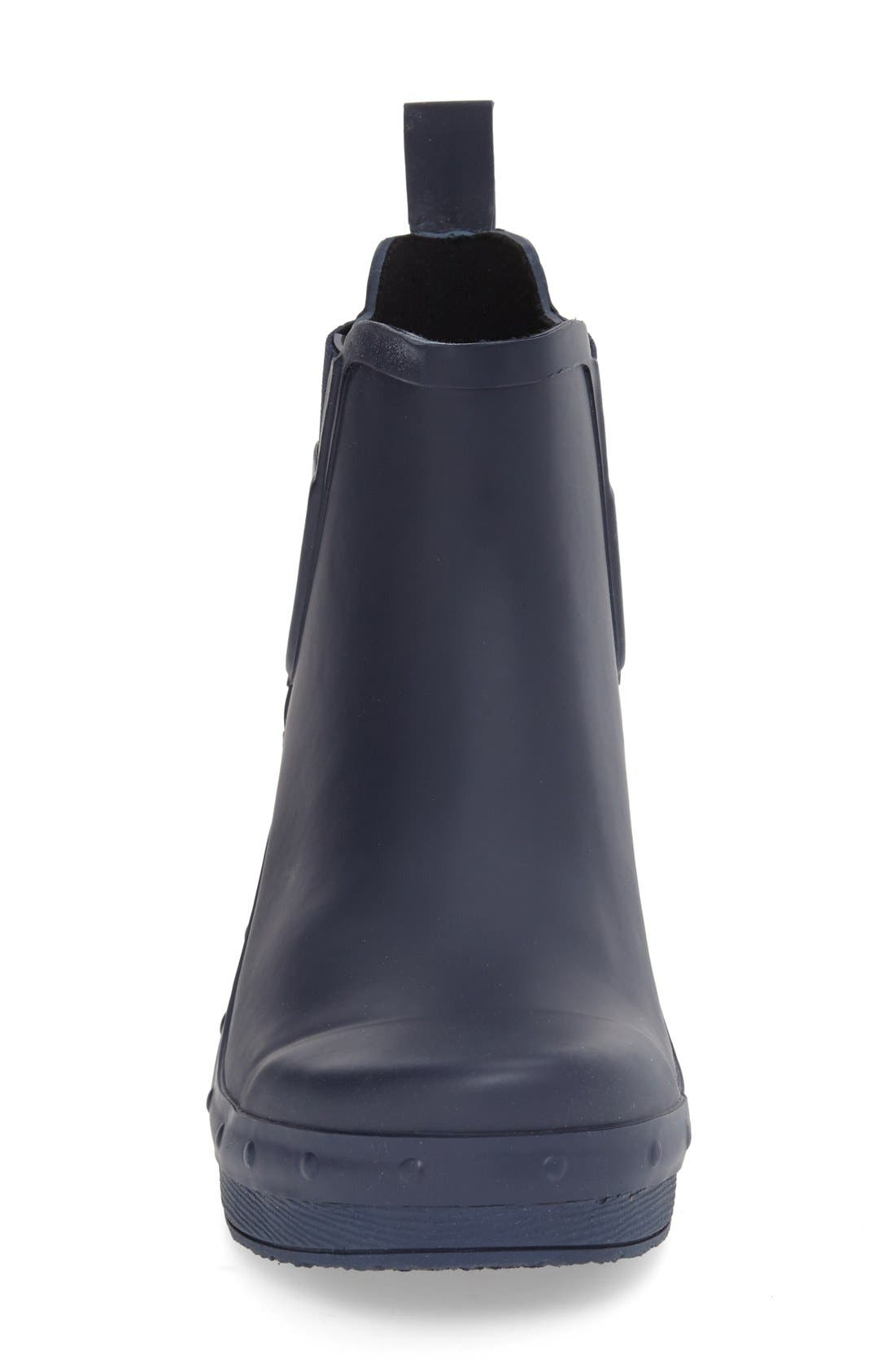 'Rosa' Chelsea Rain Boot,                             Alternate thumbnail 12, color,