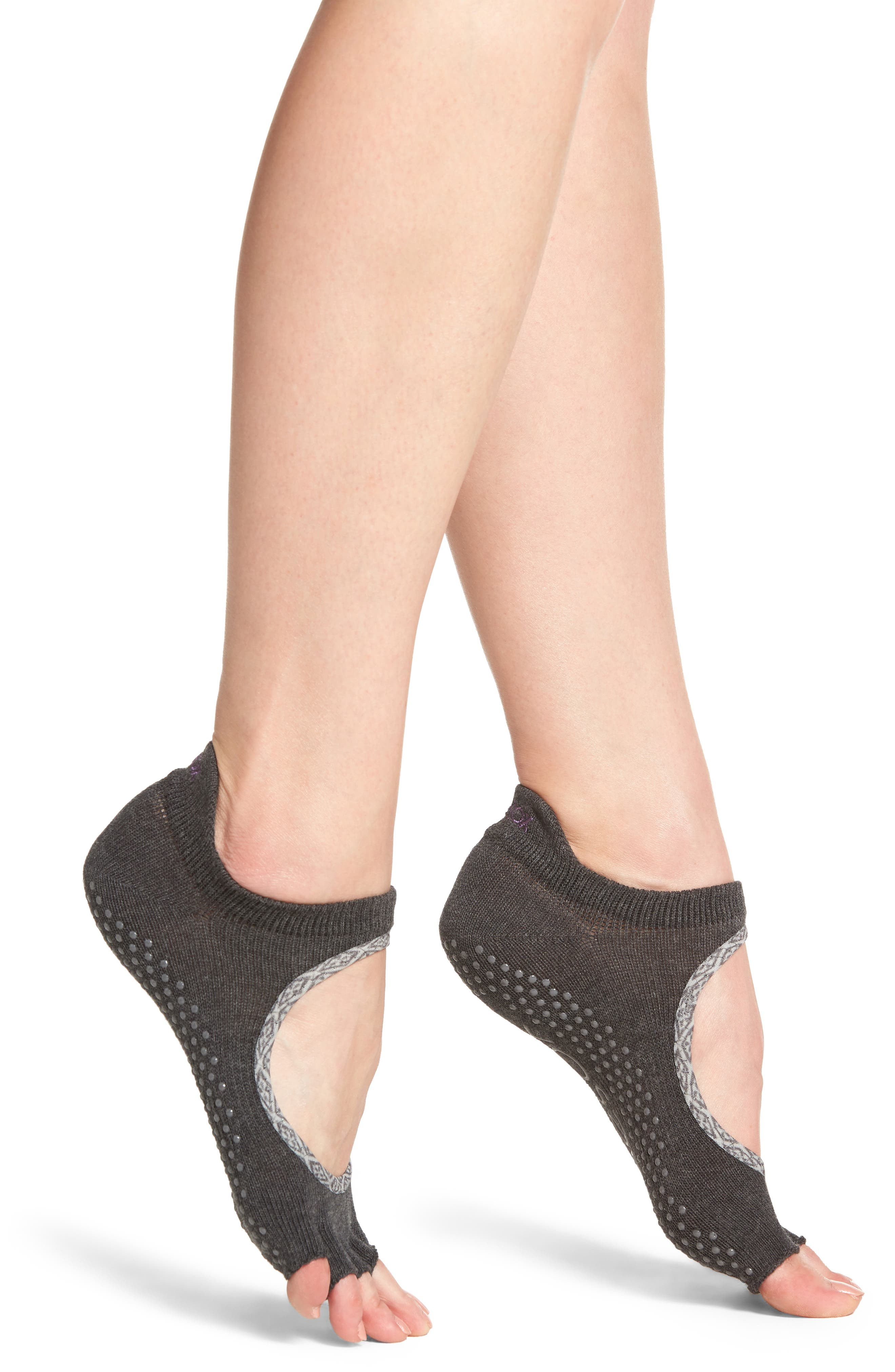 Bellarine Half Toe Gripper Socks,                             Main thumbnail 1, color,                             020