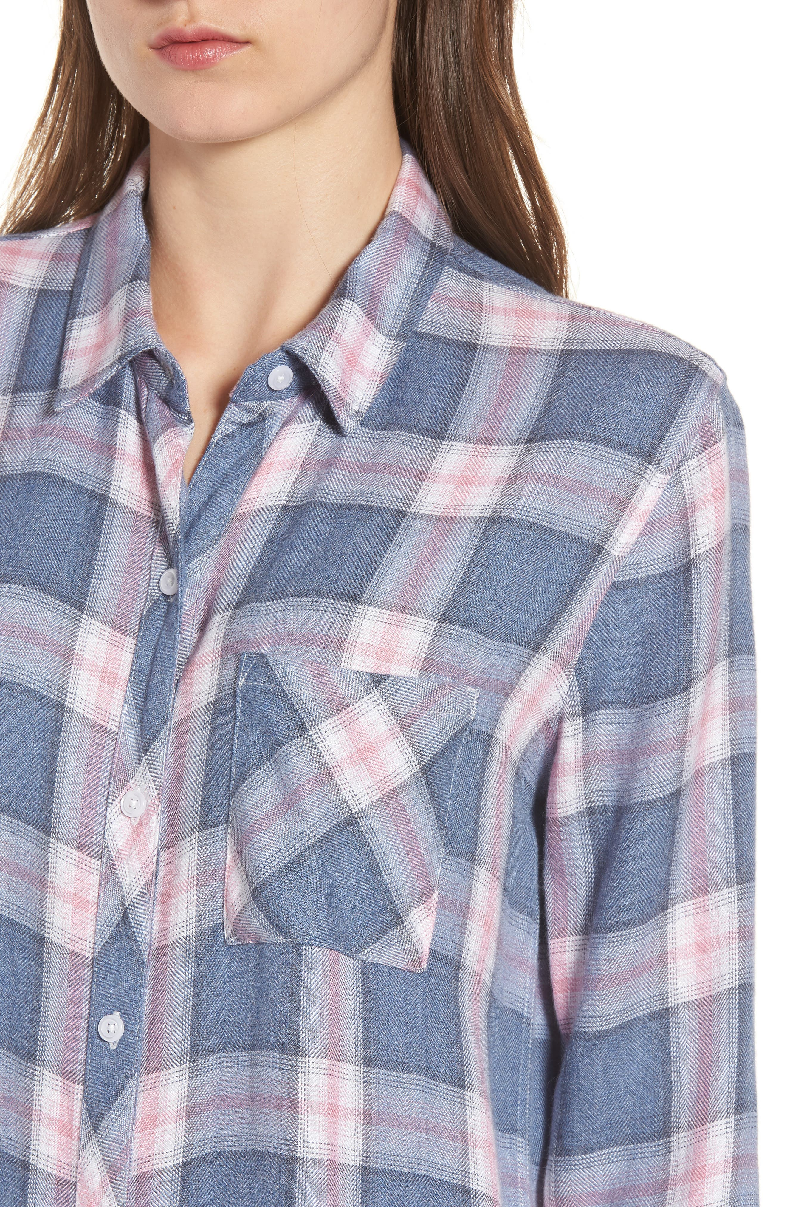 Hunter Plaid Shirt,                             Alternate thumbnail 485, color,
