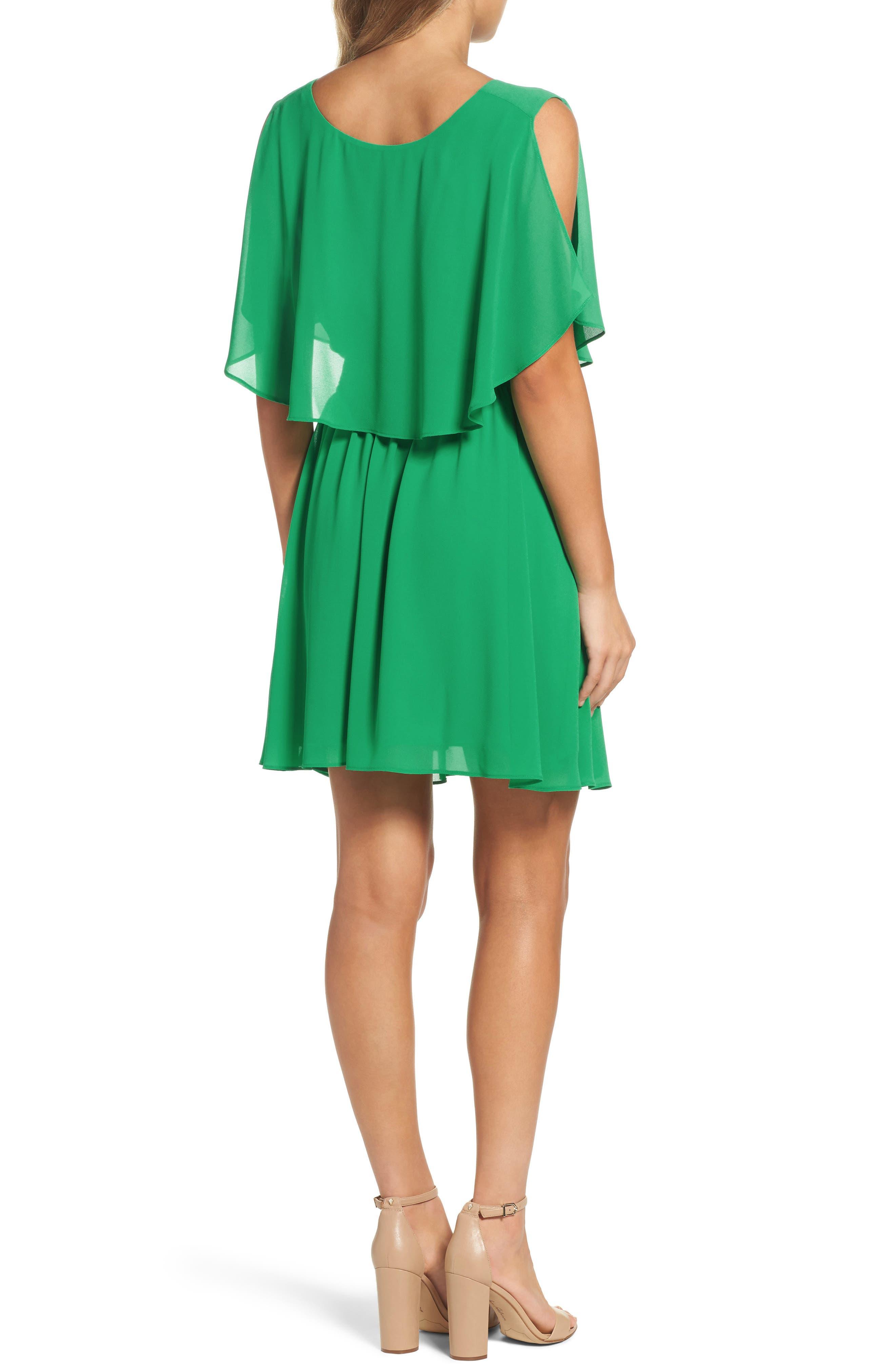 BB Dakota Catia Fit & Flare Dress,                             Alternate thumbnail 2, color,                             300