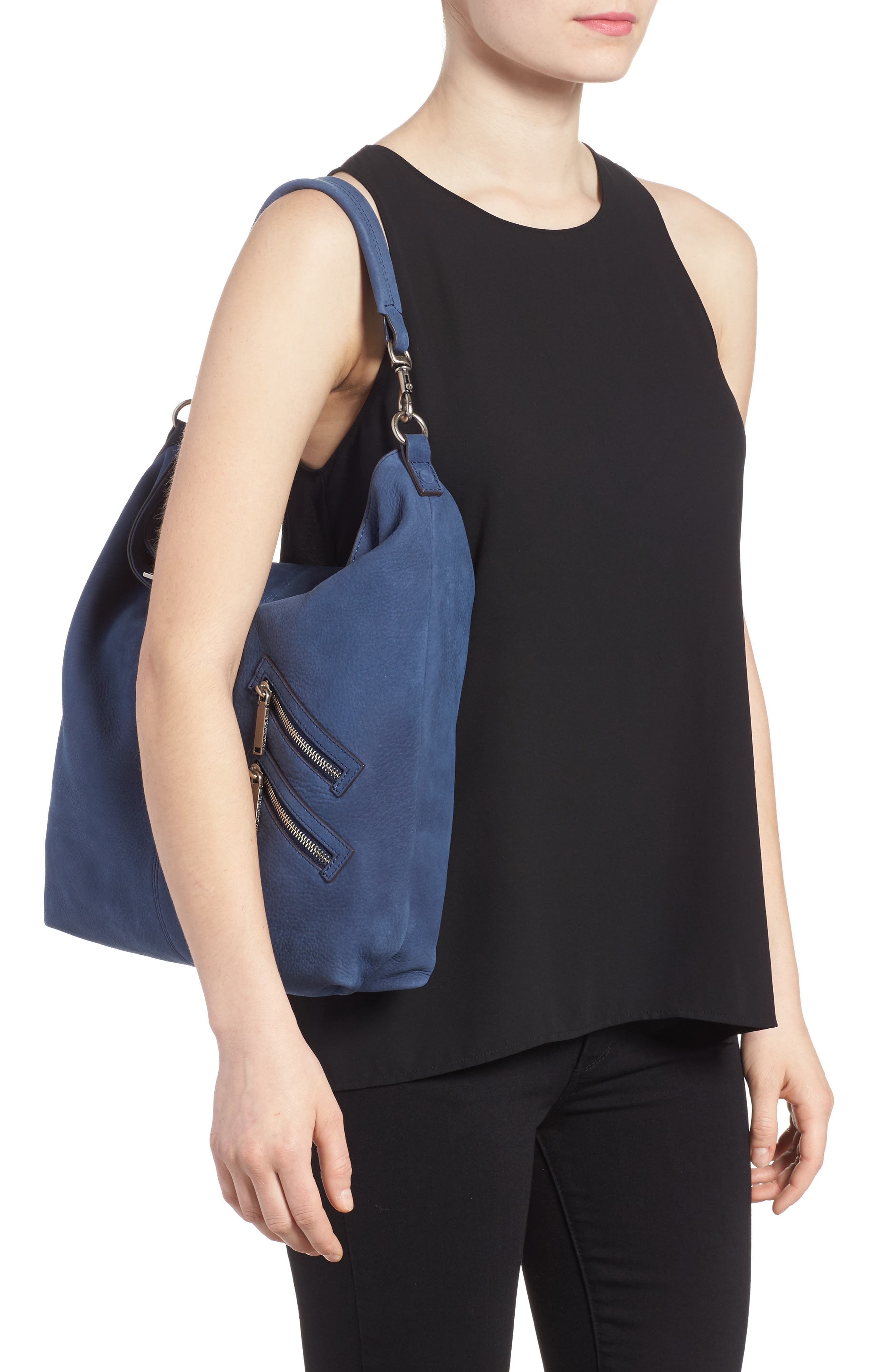 Large Jamie Convertible Leather Hobo,                             Alternate thumbnail 2, color,                             483