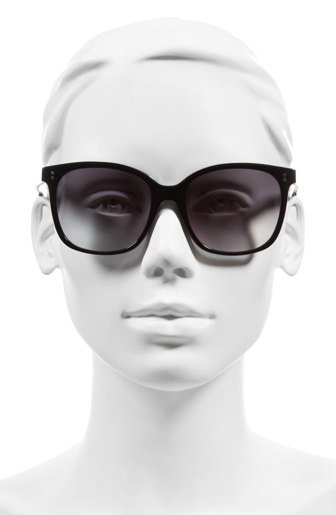 The Whitner 54mm Sunglasses,                             Alternate thumbnail 2, color,                             001