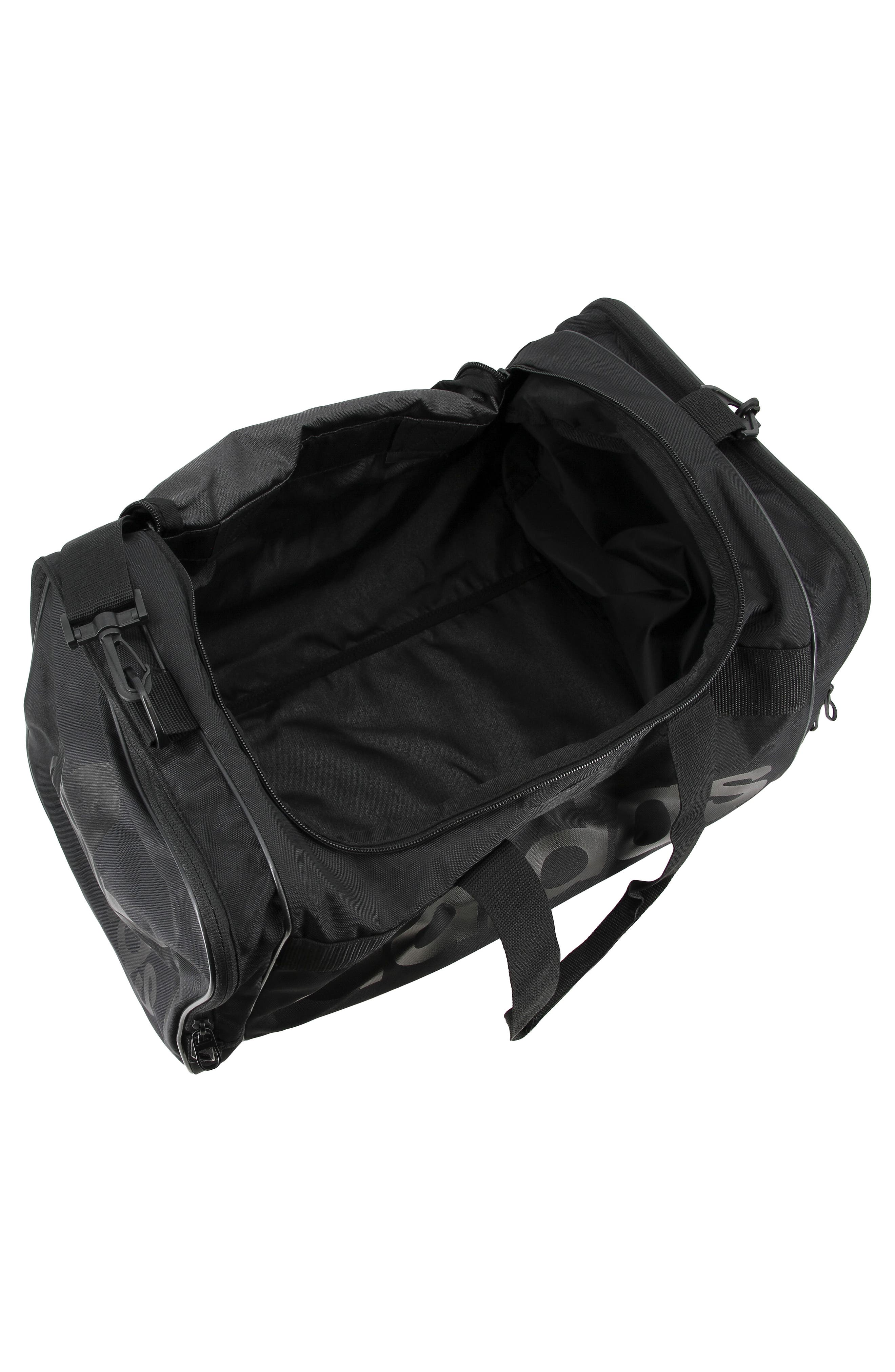 Santiago Duffel Bag,                             Alternate thumbnail 4, color,                             BLACK/ BLACK