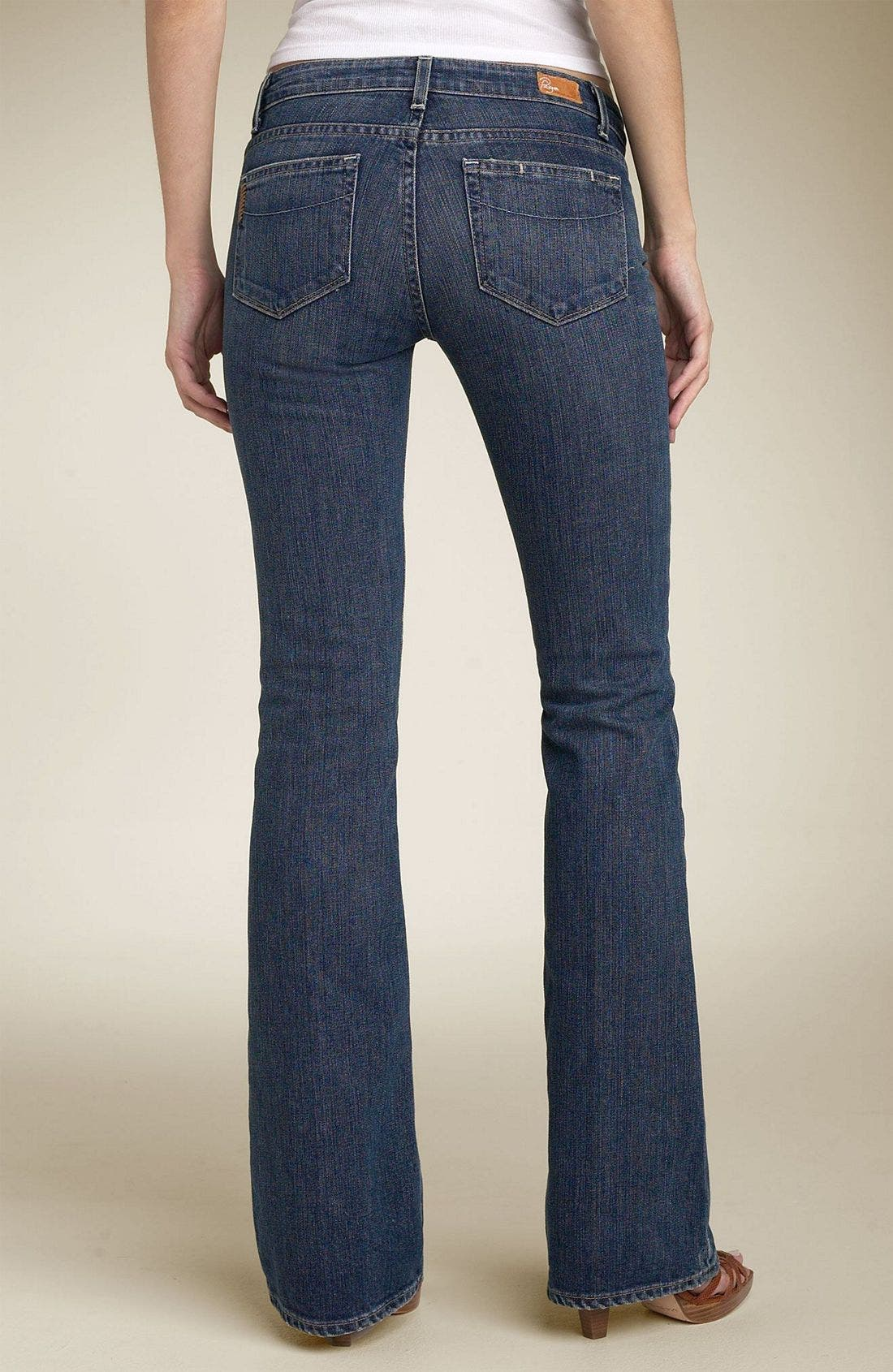 Denim 'Hollywood Hills' Bootcut Stretch Jeans,                             Main thumbnail 1, color,                             DCN