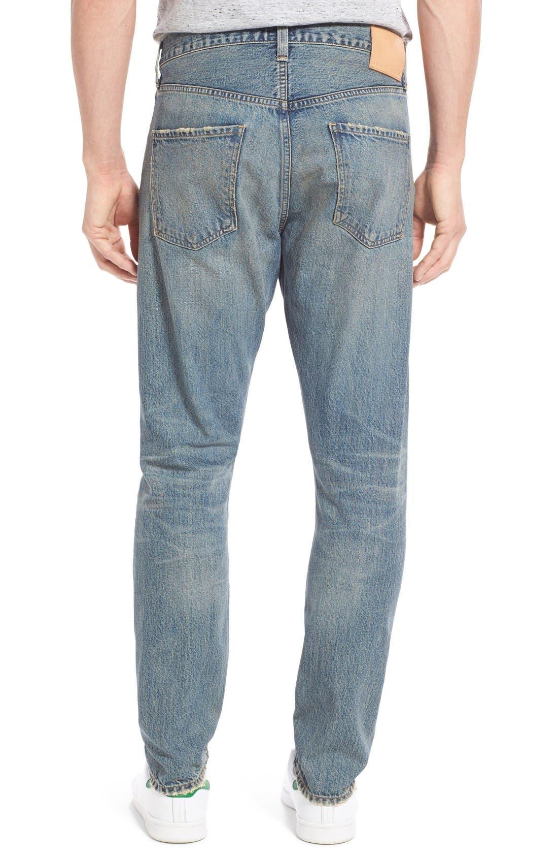 Rowan Slouchy Skinny Fit Jeans,                             Alternate thumbnail 2, color,                             462