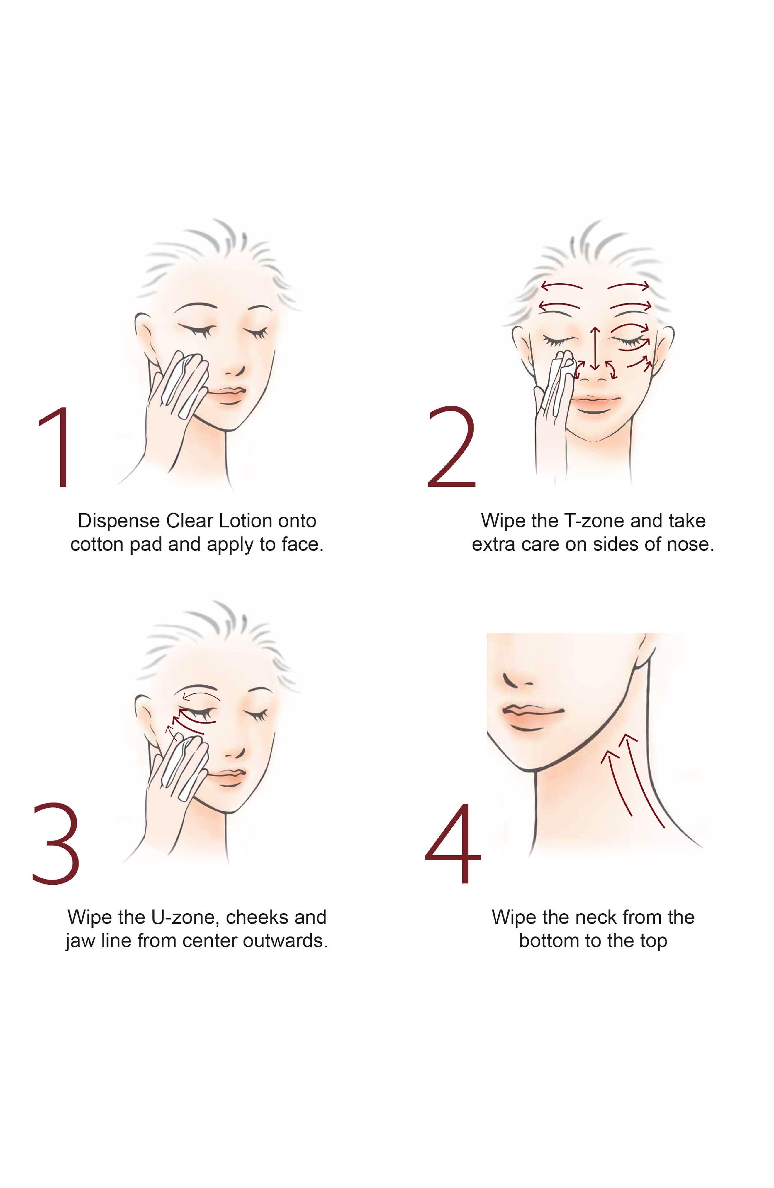 Facial Treatment Clear Lotion,                             Alternate thumbnail 3, color,                             NO COLOR
