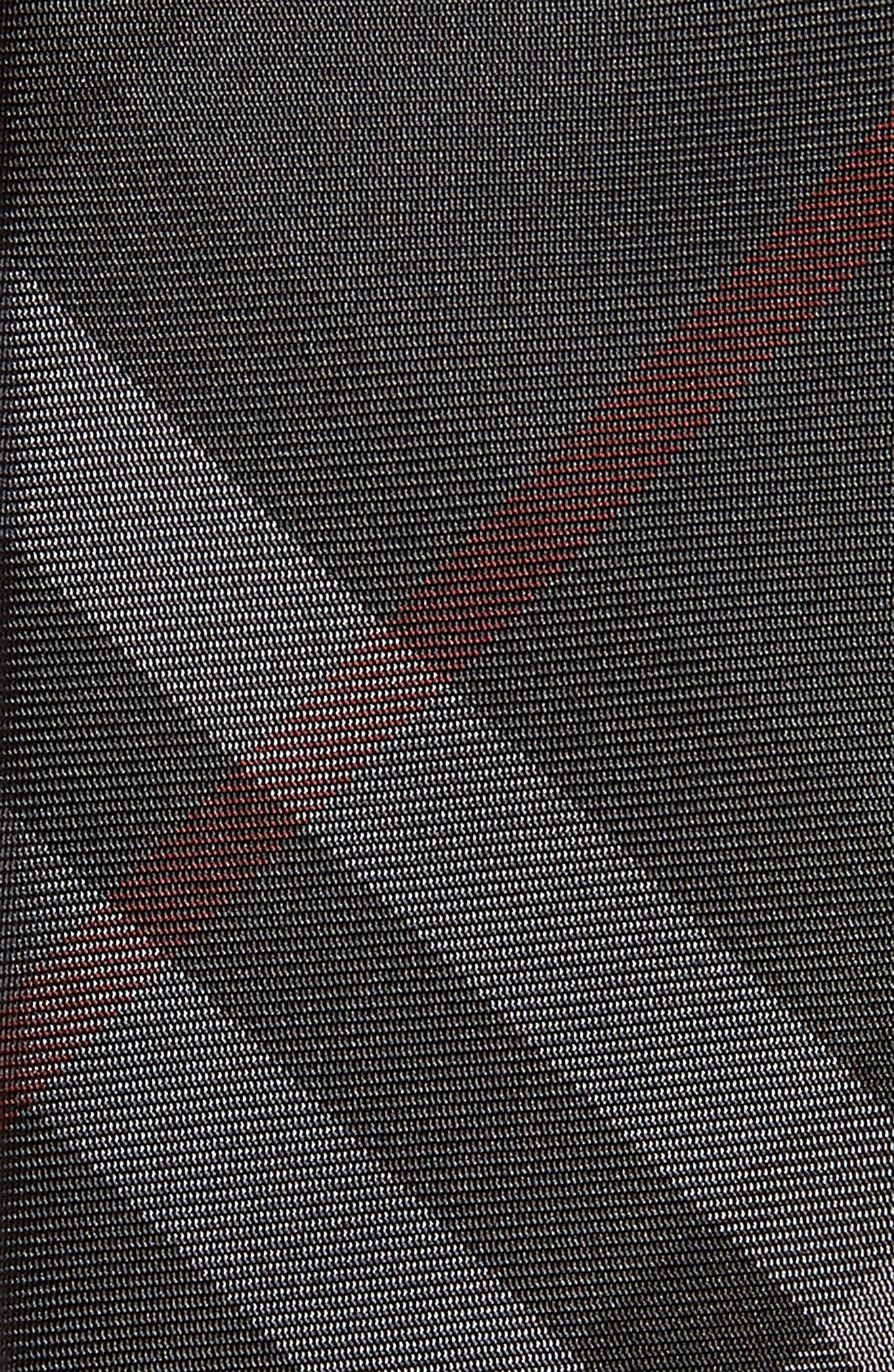 Manston Check Silk Tie,                             Alternate thumbnail 2, color,                             DARK CHARCOAL
