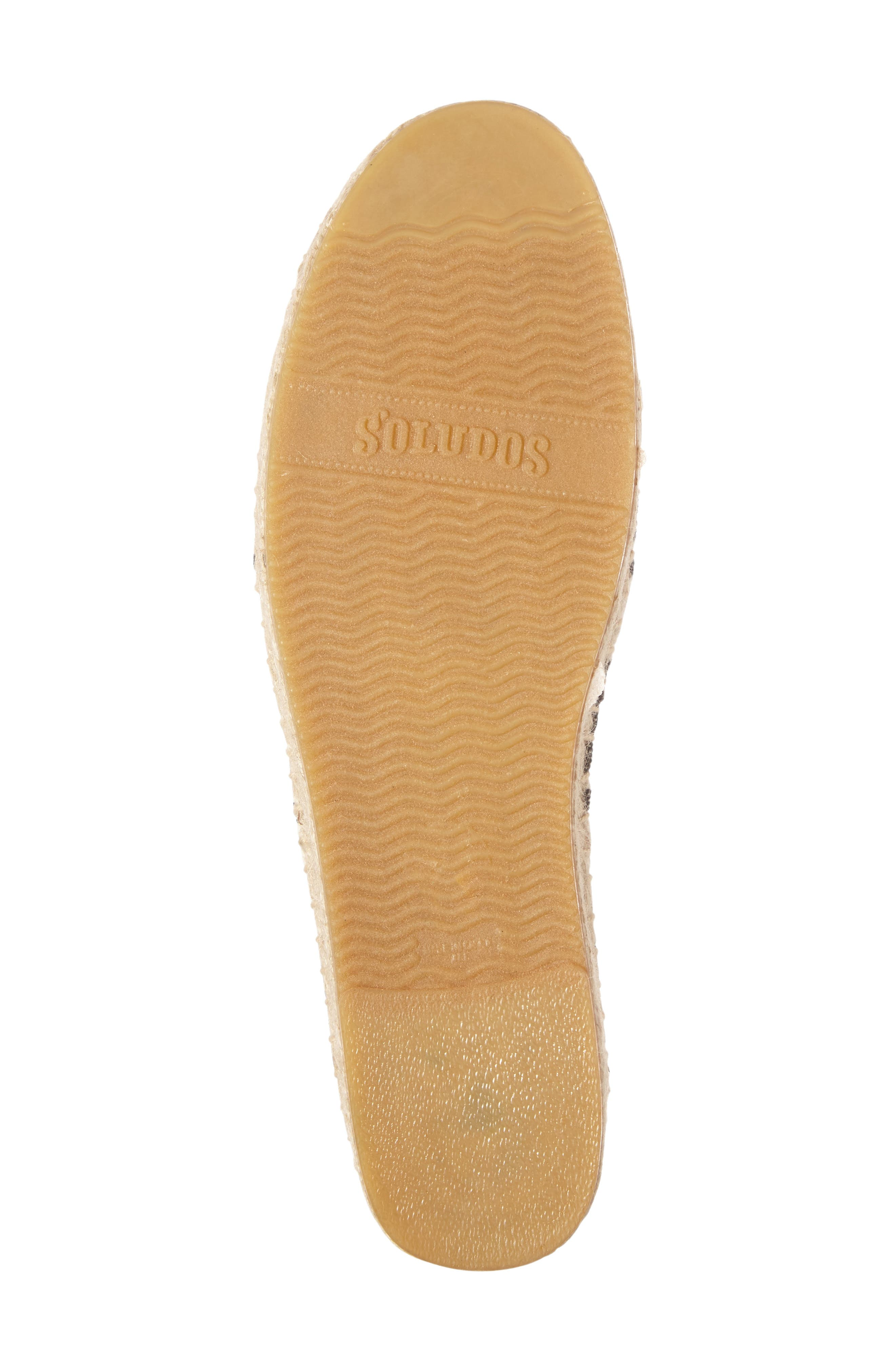 Knotted Smoking Slipper Flat,                             Alternate thumbnail 4, color,                             250
