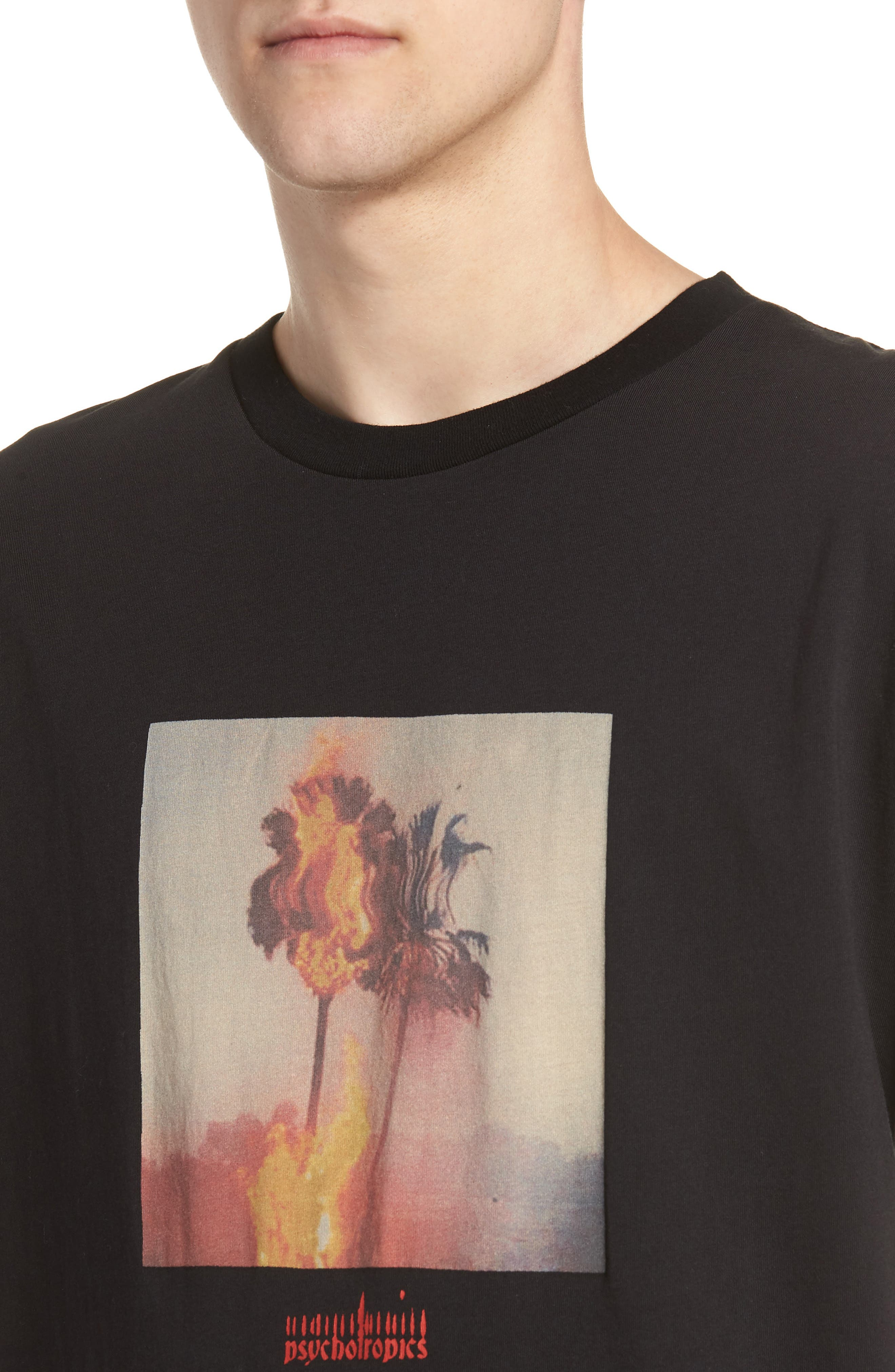 Psychotropics T-Shirt,                             Alternate thumbnail 4, color,                             009