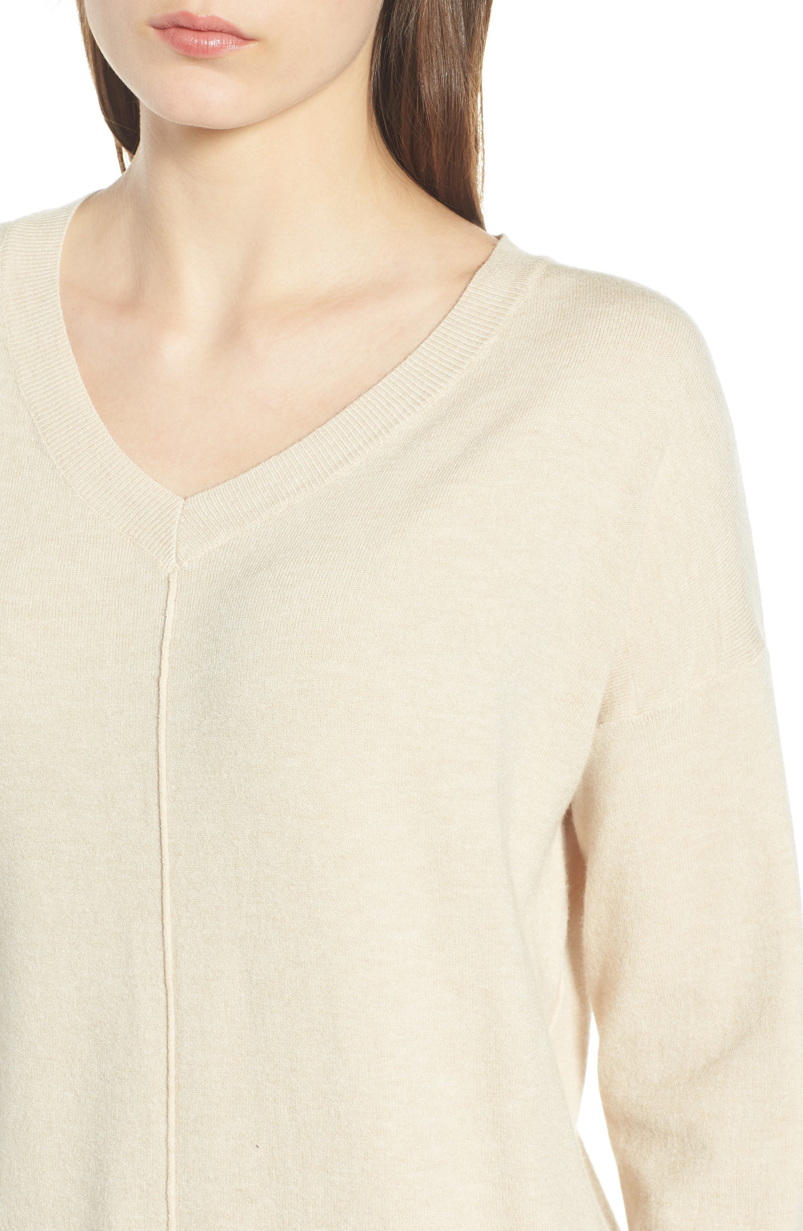 Exposed Seam Sweater,                             Alternate thumbnail 18, color,