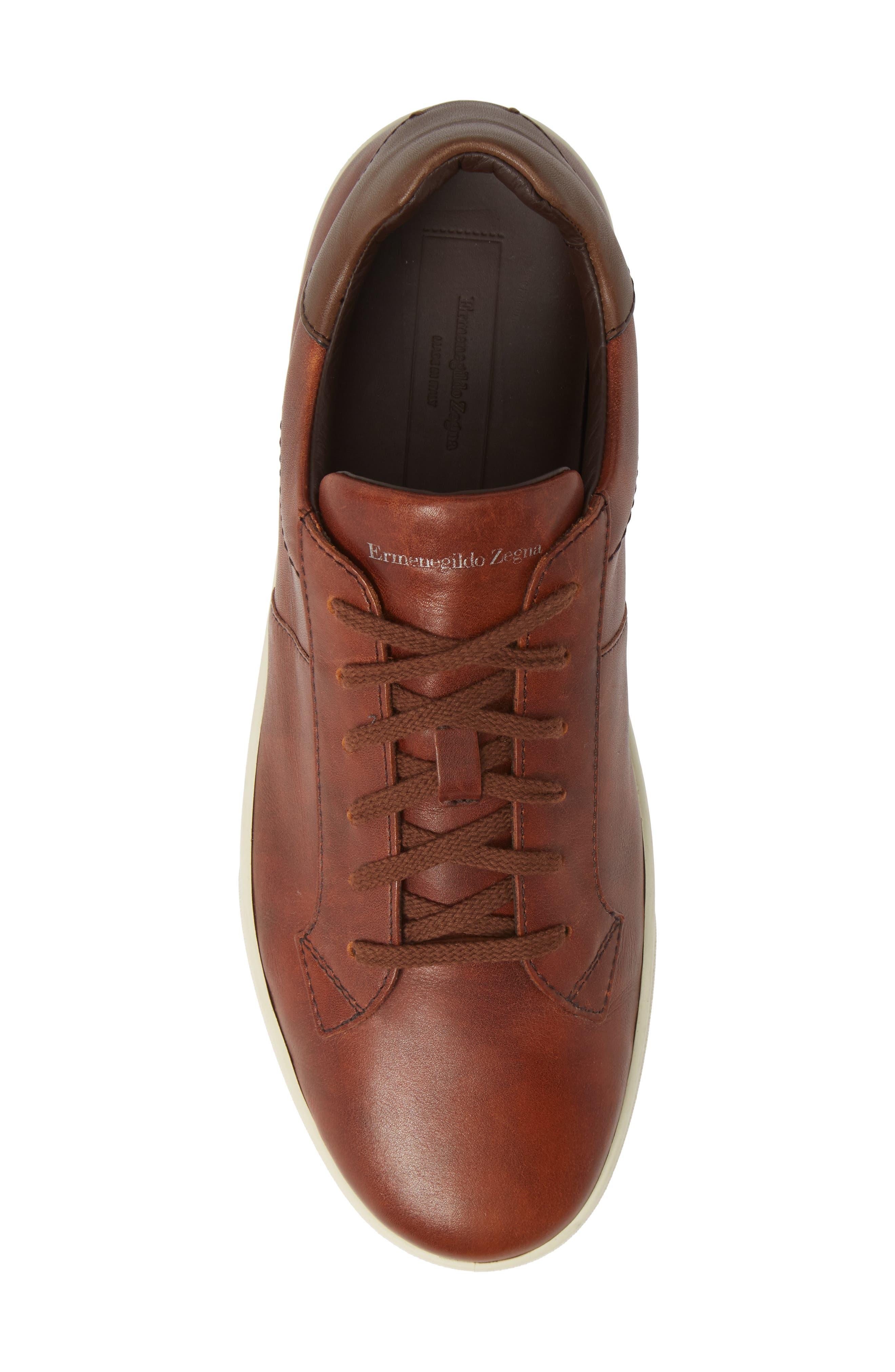 Sneaker,                             Alternate thumbnail 5, color,                             BROWN