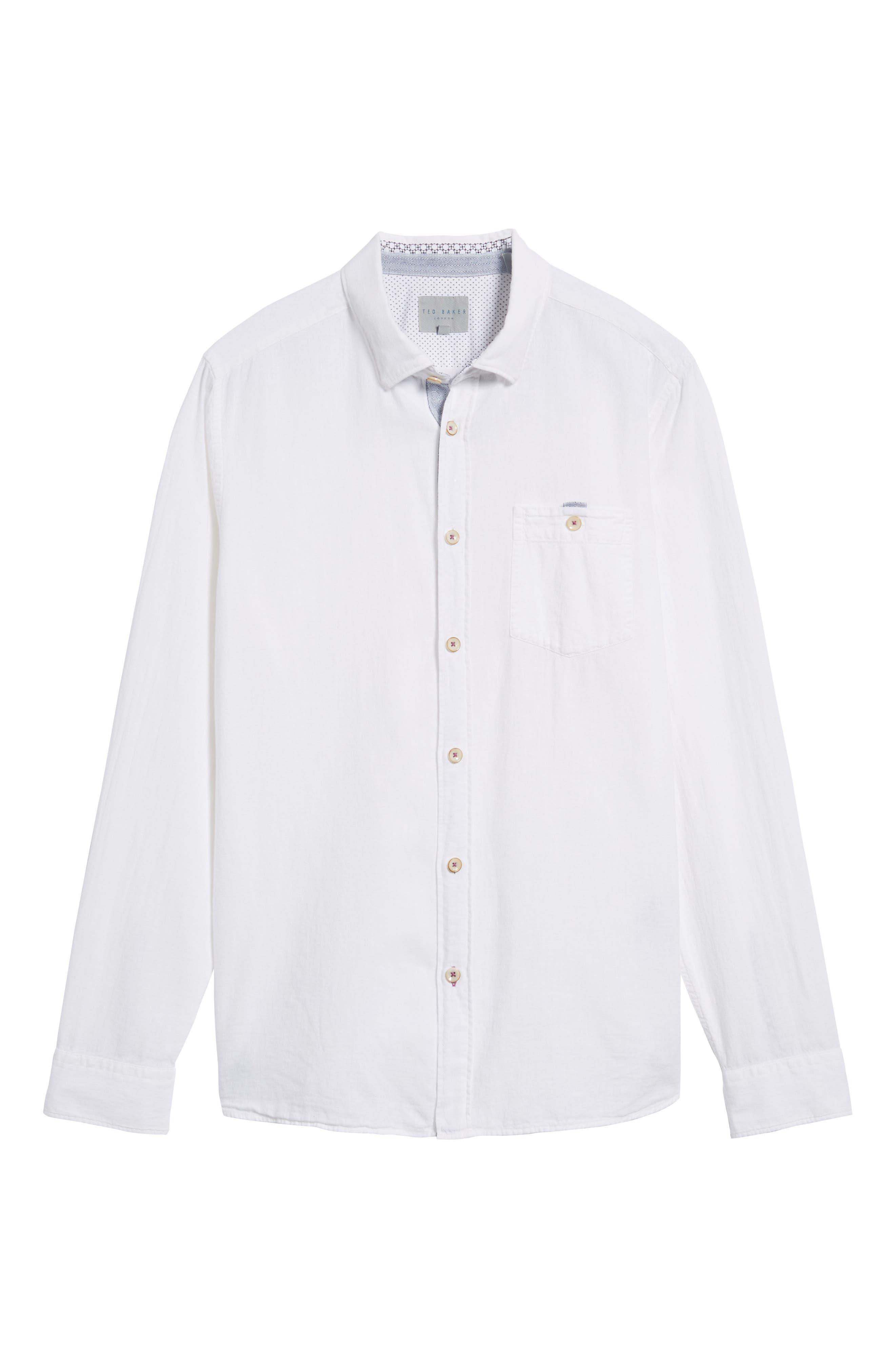 Carwash Modern Slim Fit Sport Shirt,                             Alternate thumbnail 16, color,