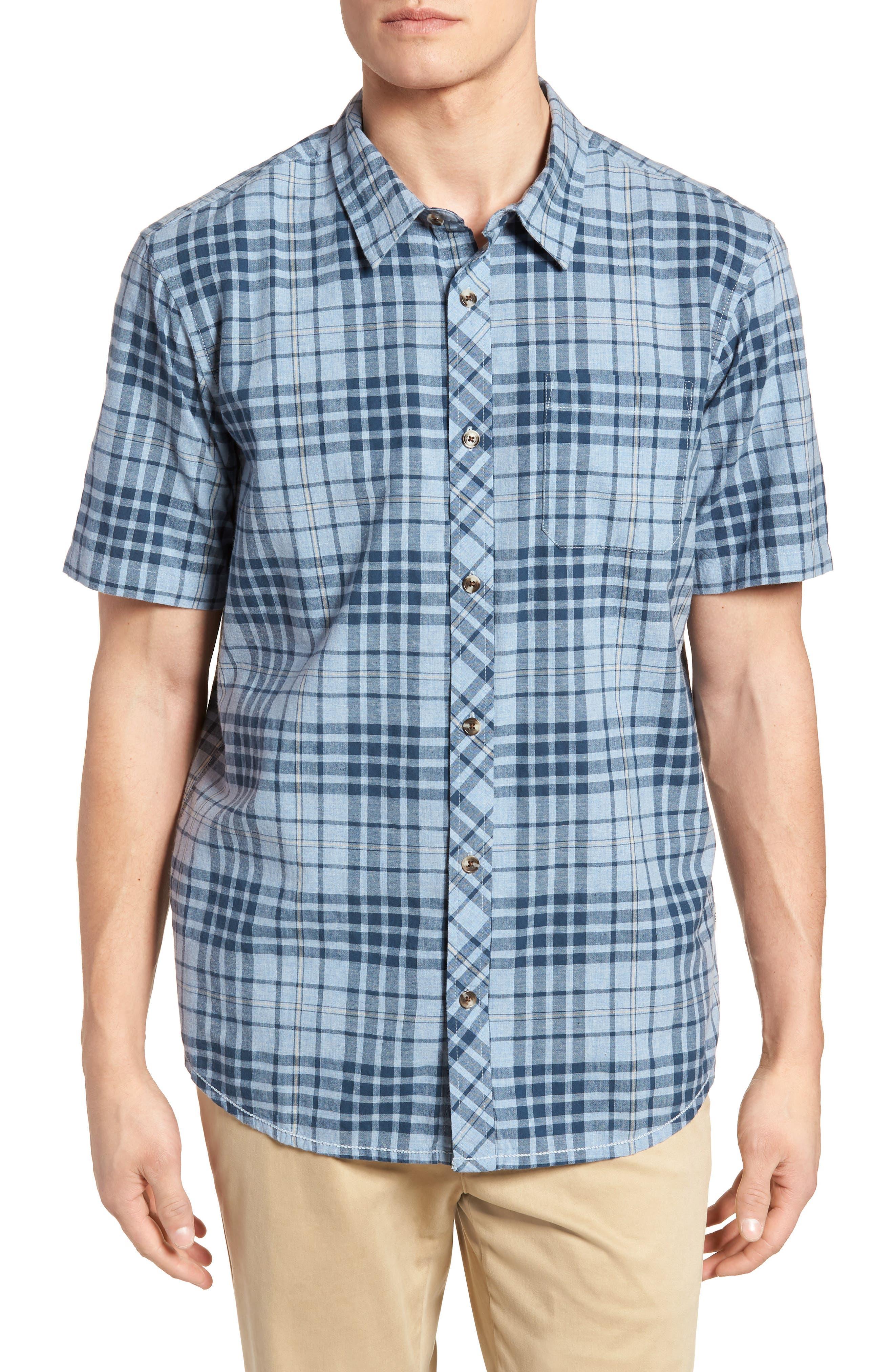 Rhodes Check Sport Shirt,                             Main thumbnail 2, color,