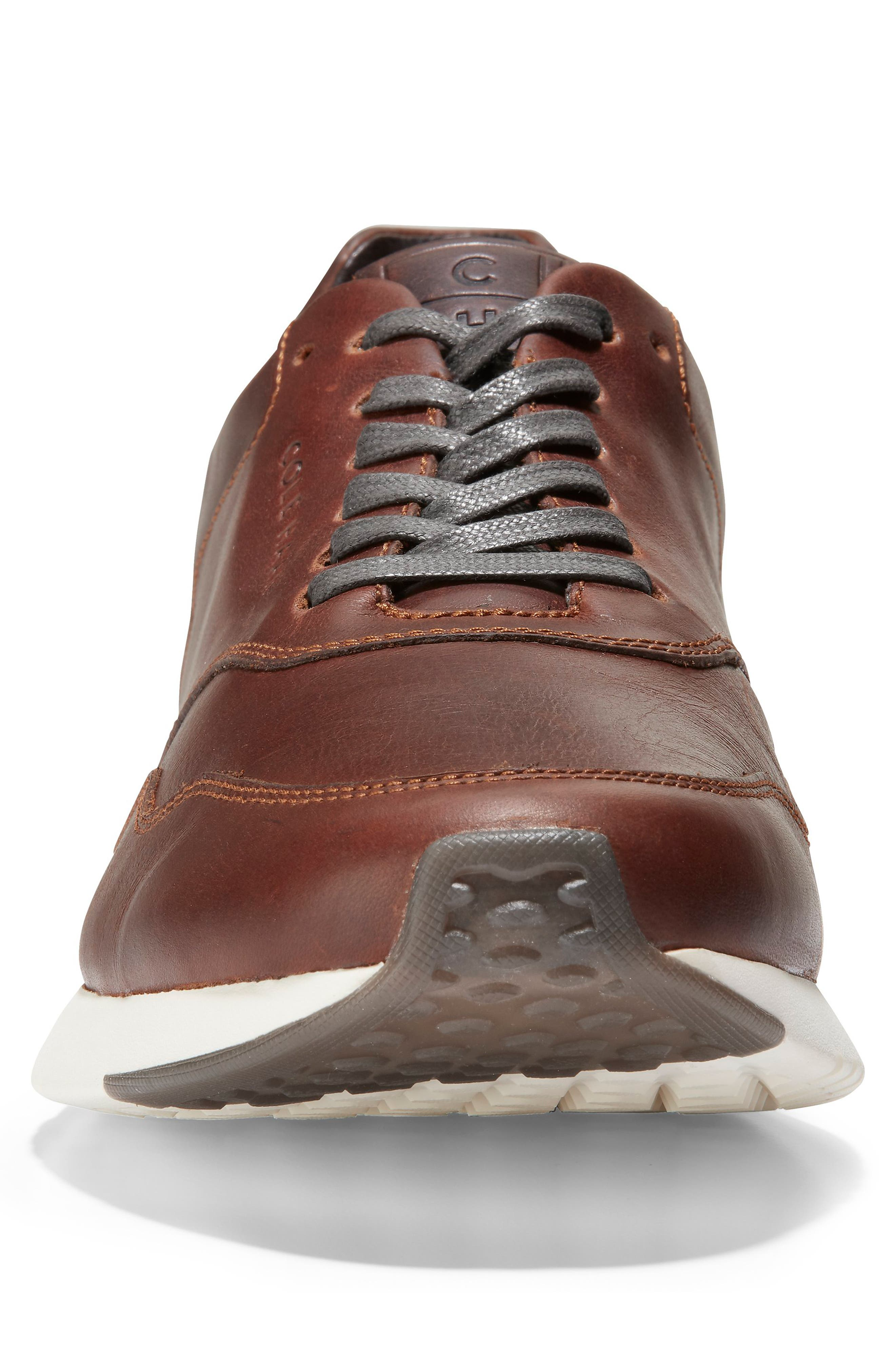 GrandPro Sneaker,                             Alternate thumbnail 4, color,                             MESQUITE/ COFFEE LEATHER