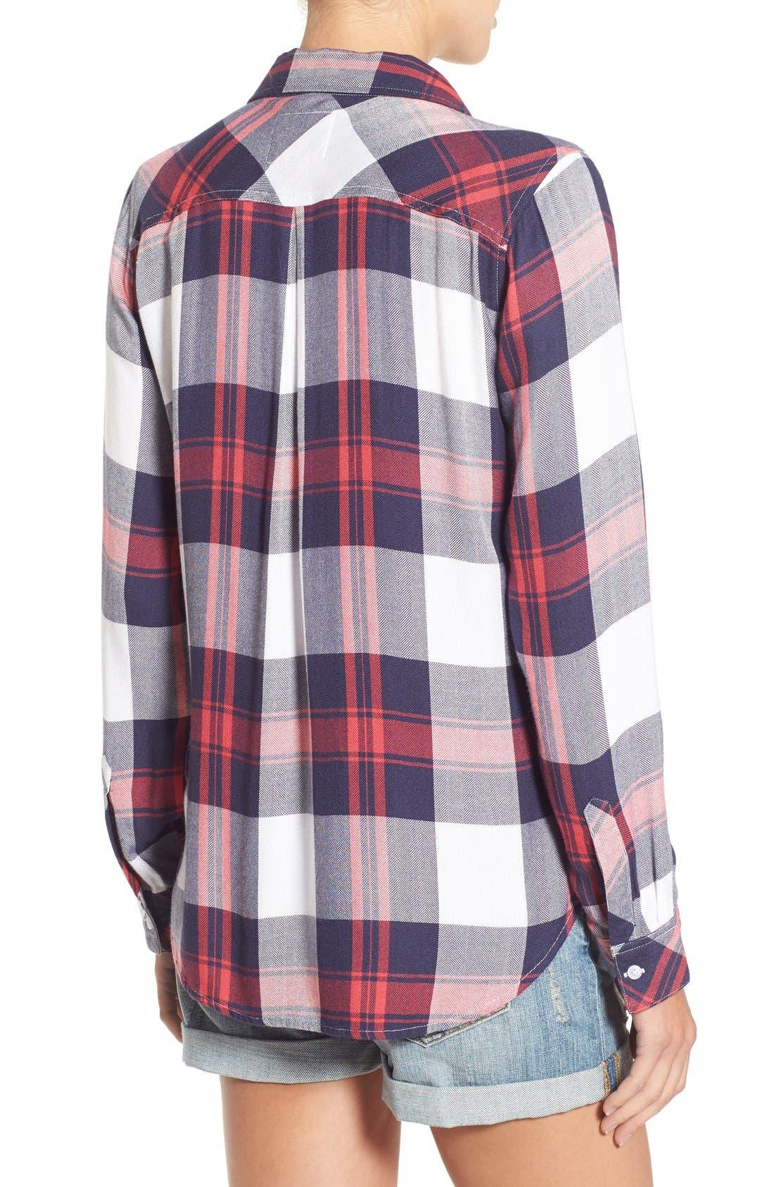 Hunter Plaid Shirt,                             Alternate thumbnail 403, color,