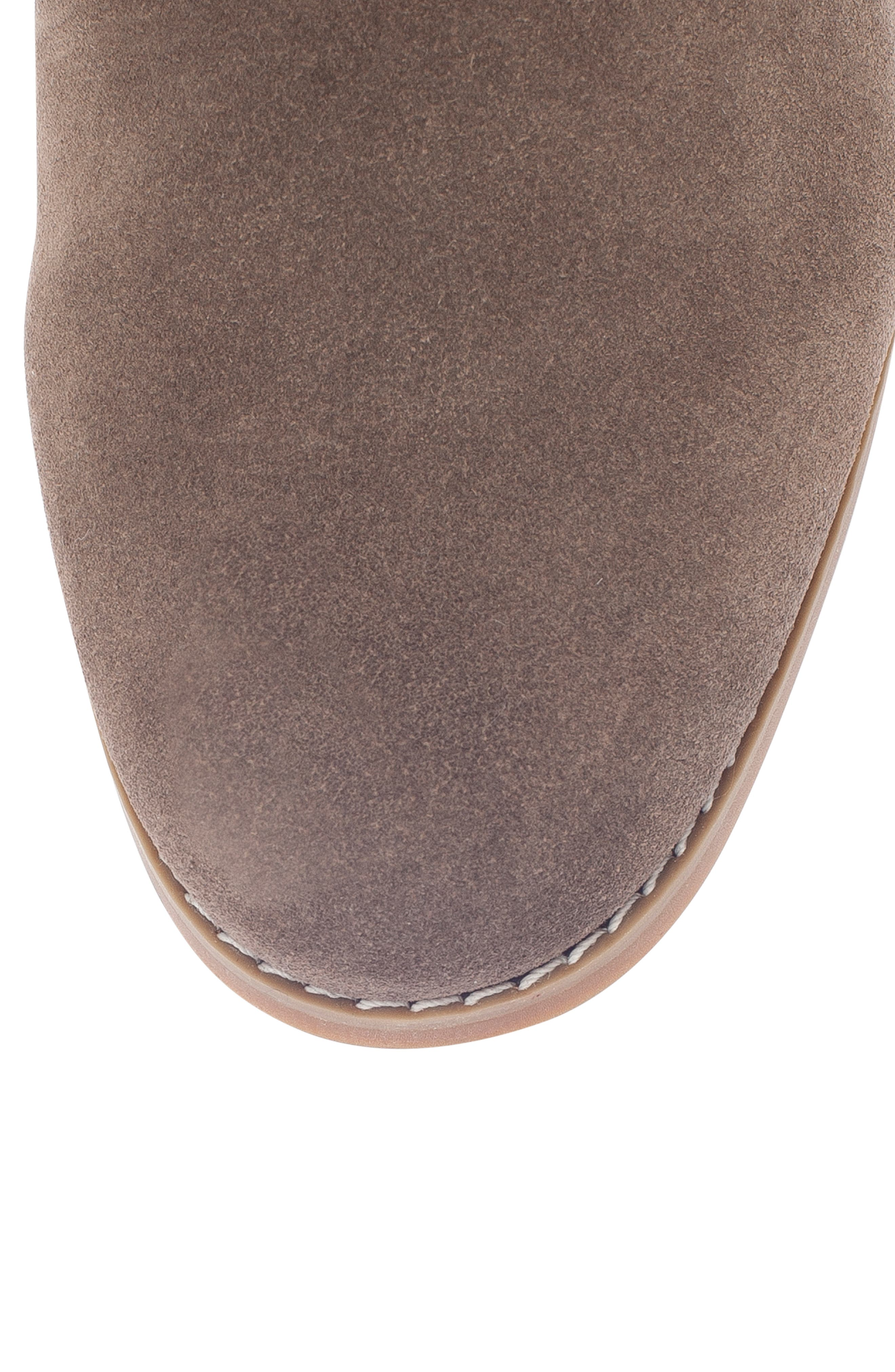 Rayann Waterproof Desert Boot,                             Alternate thumbnail 5, color,                             DARK TAUPE SUEDE