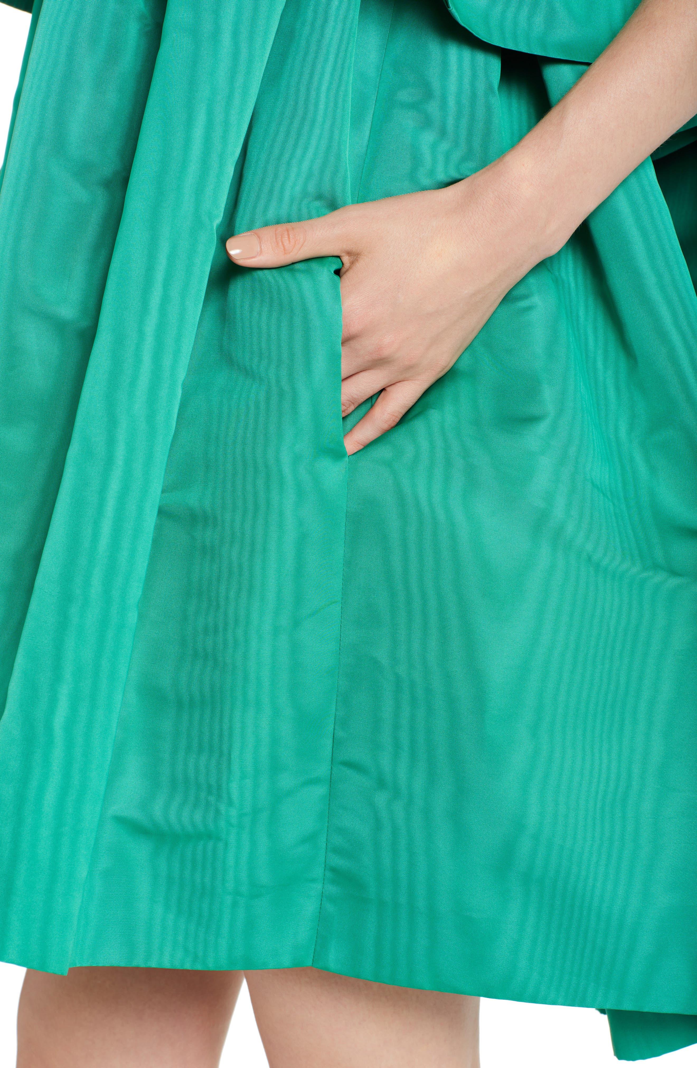 Popover Halter Dress,                             Alternate thumbnail 4, color,                             336