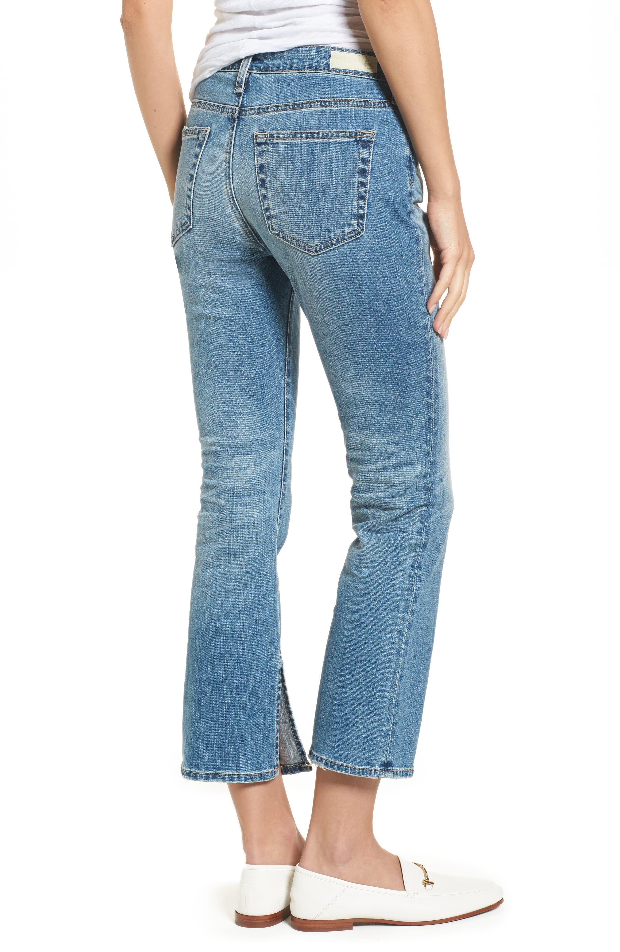 Jodi Crop Flare Jeans,                             Alternate thumbnail 2, color,