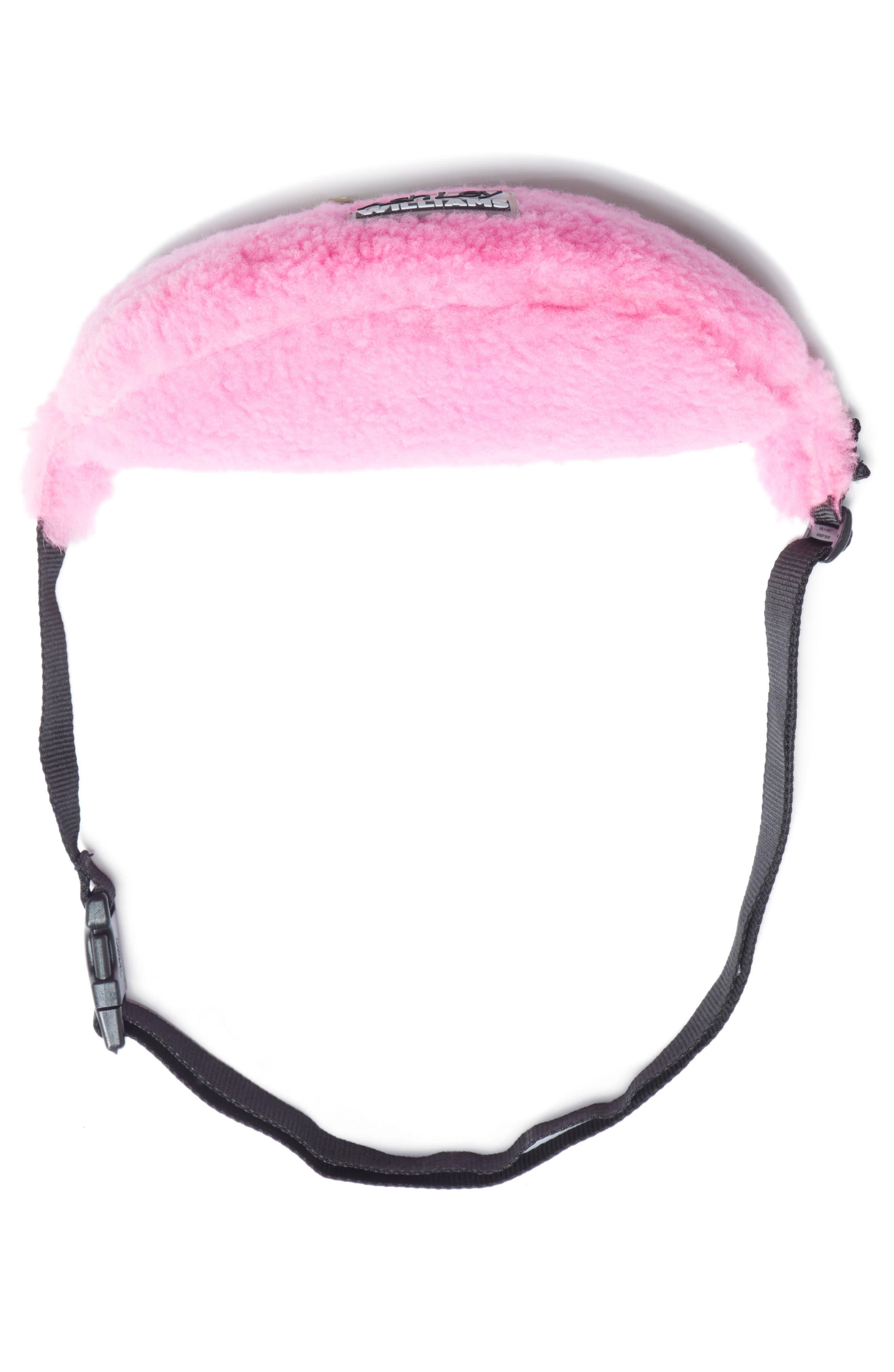 Genuine Shearling Belt Bag,                             Alternate thumbnail 6, color,                             650