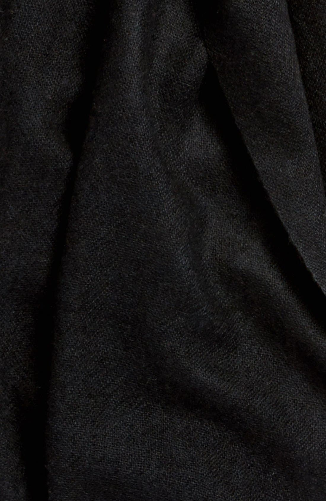 Caslon<sup>®</sup> Heathered Cashmere Gauze Scarf,                             Alternate thumbnail 54, color,