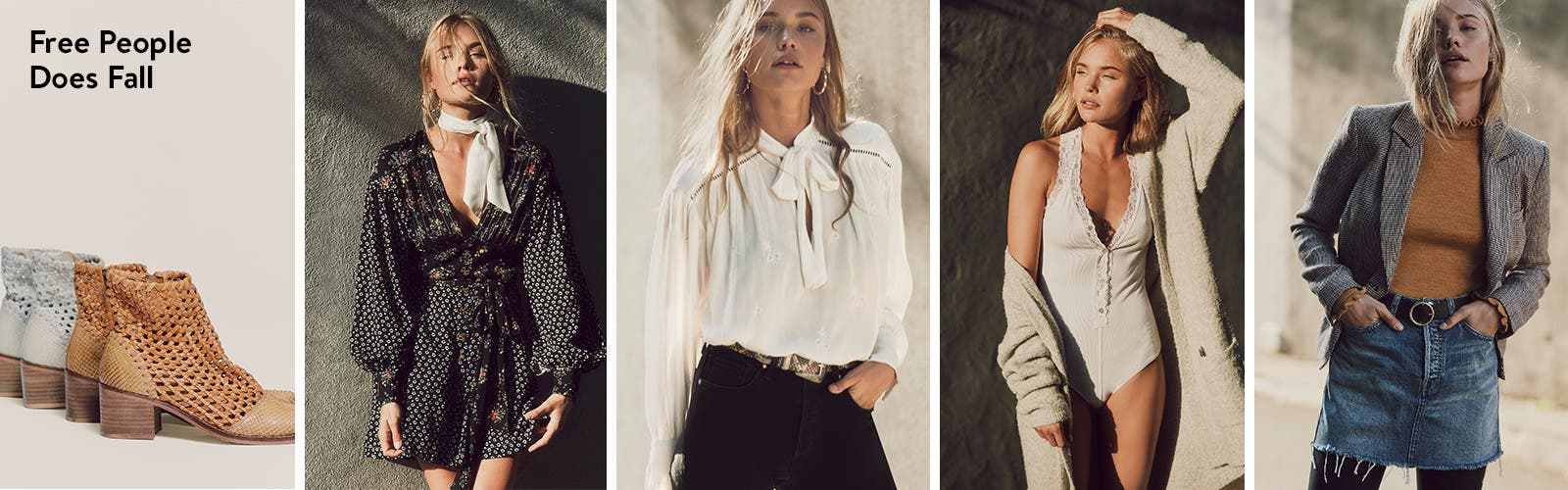 Free People does fall.