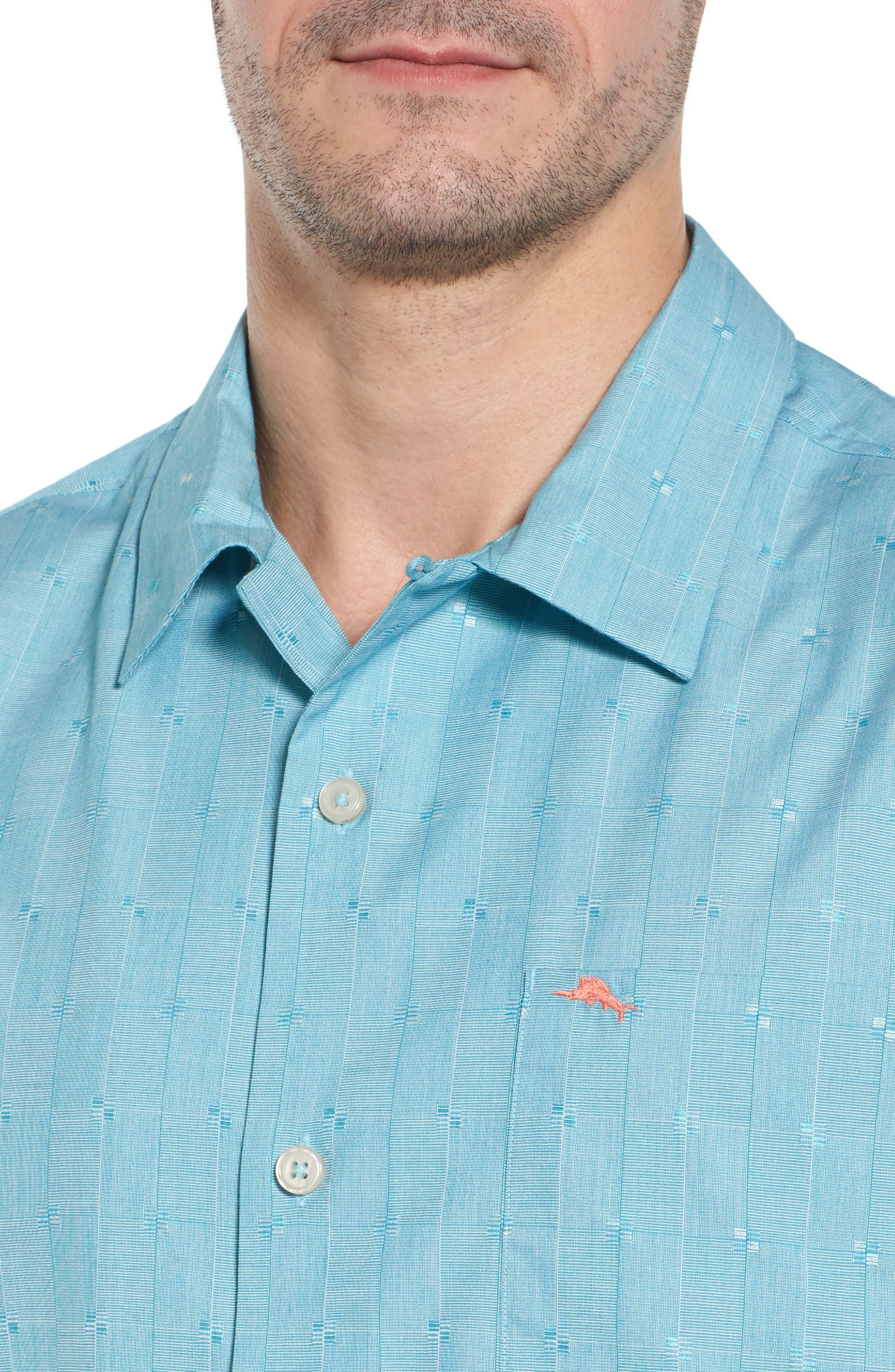 Cypress Sands Camp Shirt,                             Alternate thumbnail 4, color,