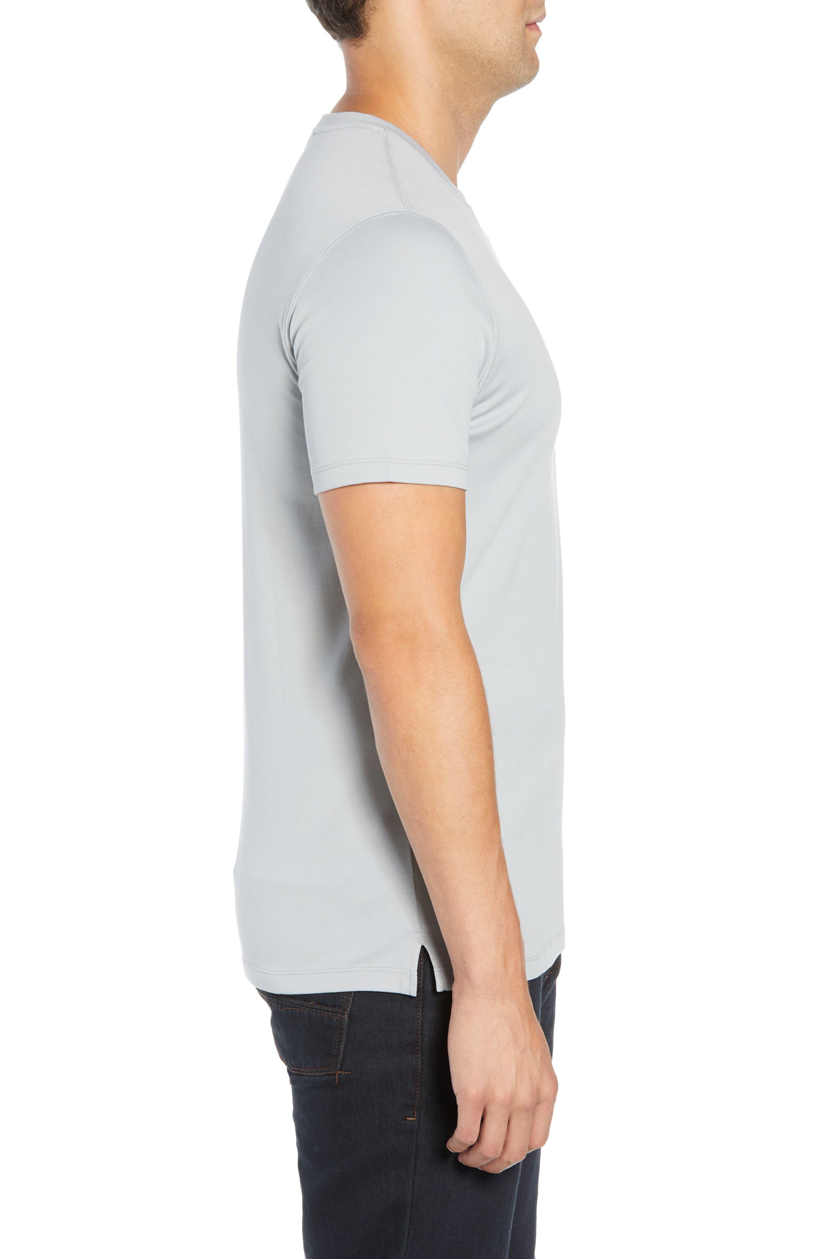 ROBERT BARAKETT,                             'Georgia' Crewneck T-Shirt,                             Alternate thumbnail 3, color,                             MOON DUST