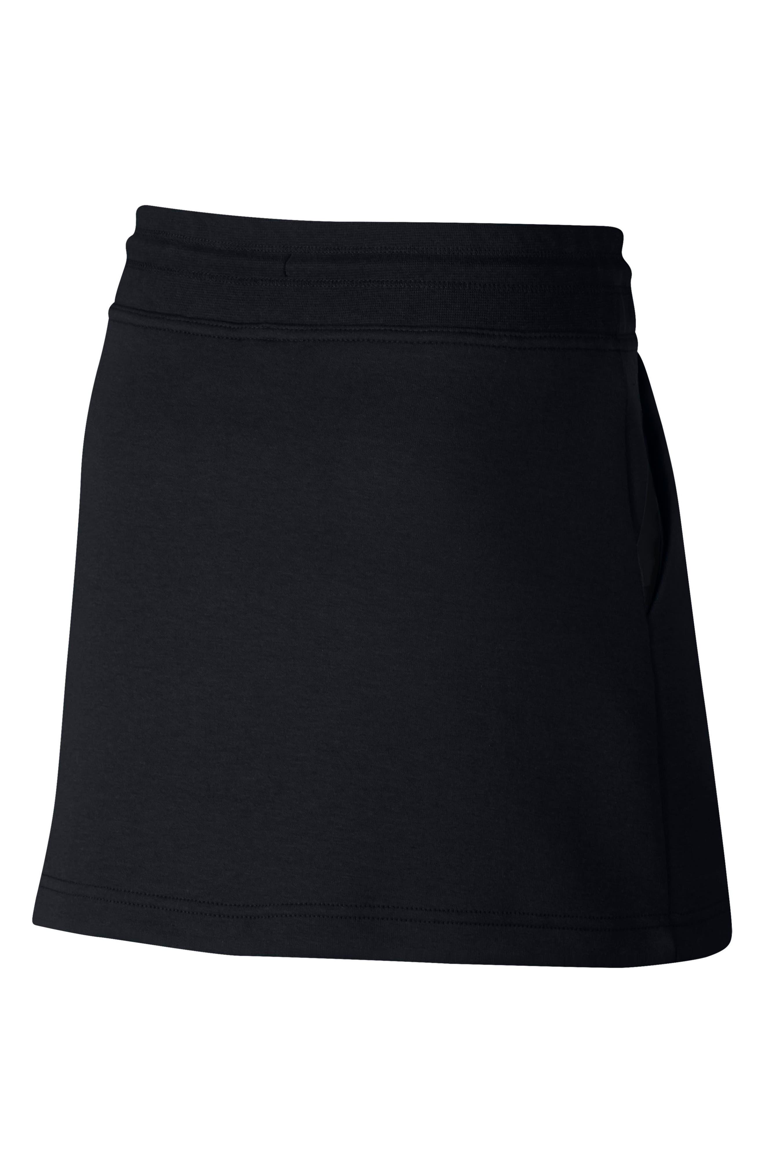 Tech Fleece Skirt,                             Alternate thumbnail 2, color,                             010