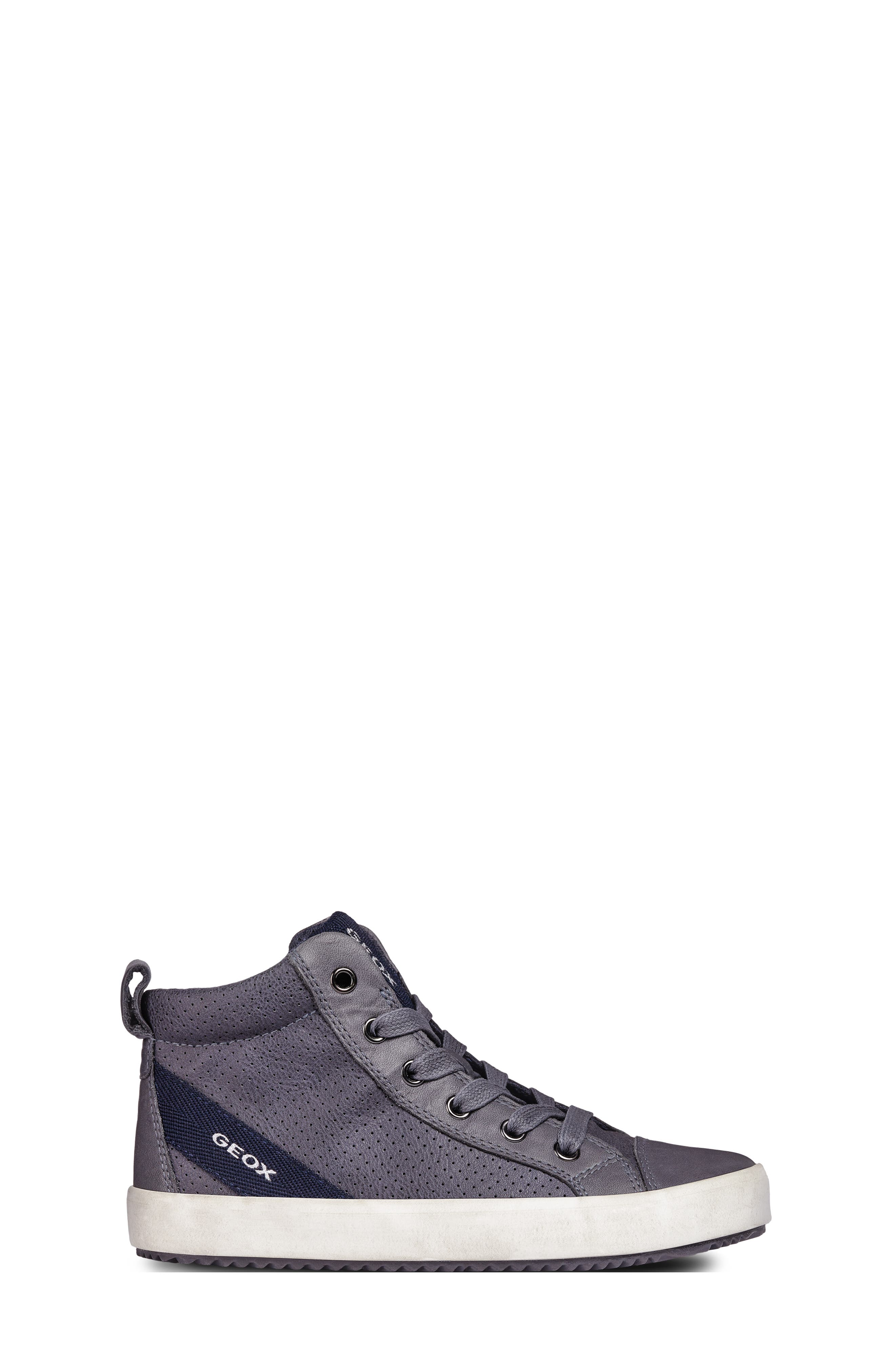 Alonisso High-Top Sneaker,                             Alternate thumbnail 6, color,                             GREY/DARK GREY