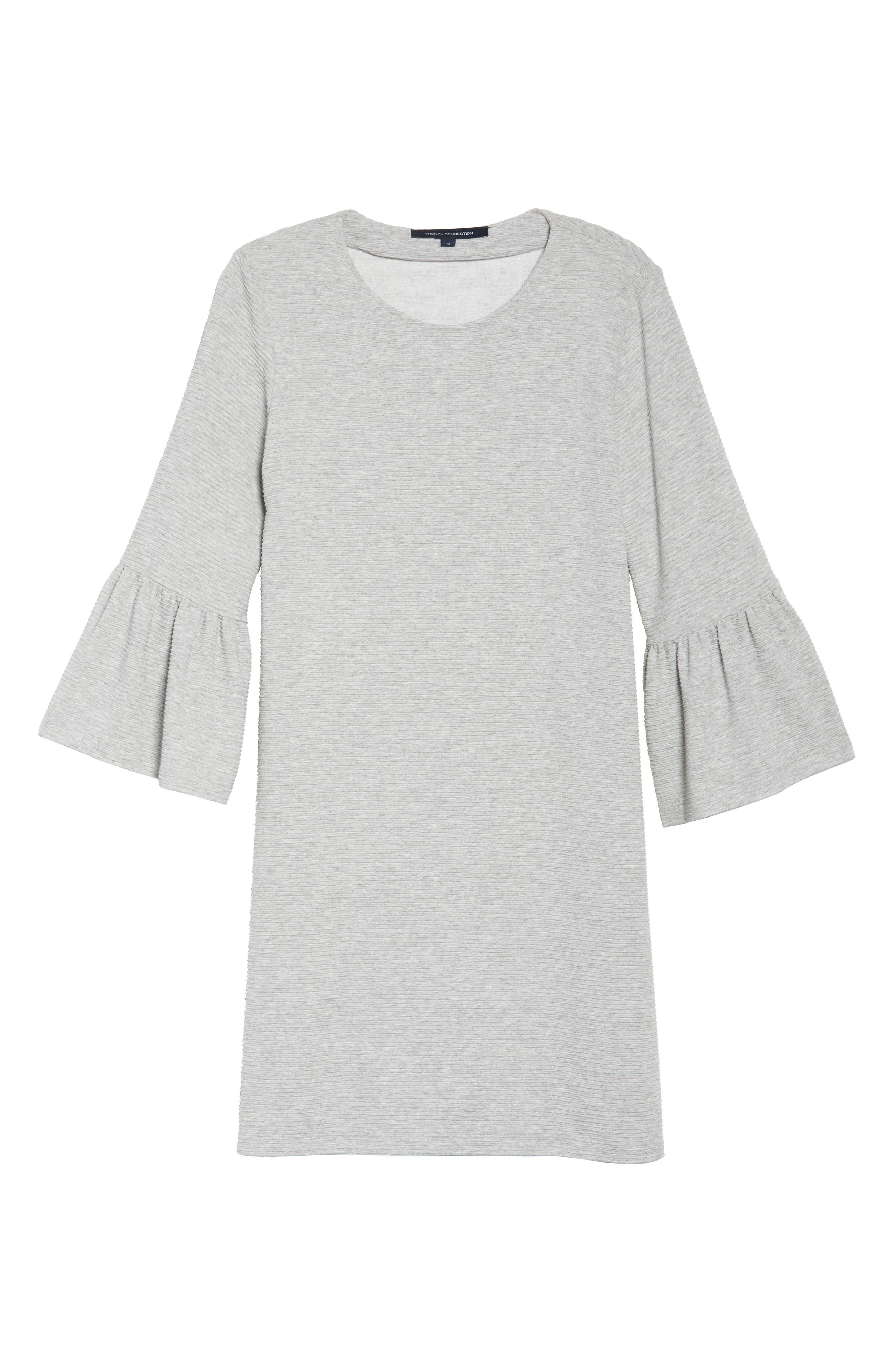 Paros Sudan Bell Sleeve Shift Dress,                             Alternate thumbnail 7, color,                             050