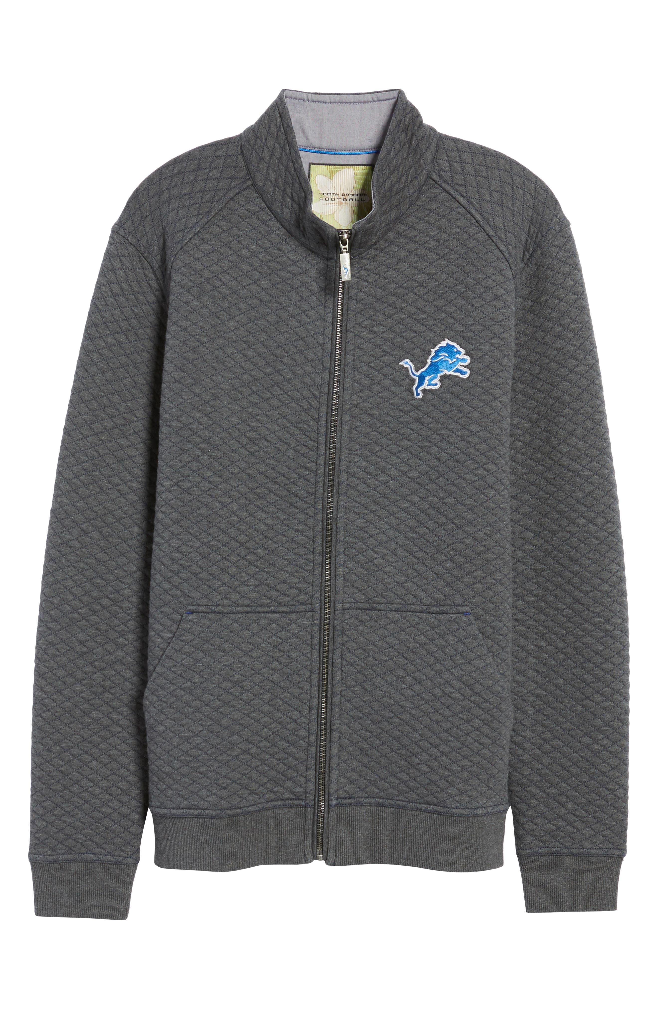 NFL Quiltessential Full Zip Sweatshirt,                             Alternate thumbnail 173, color,