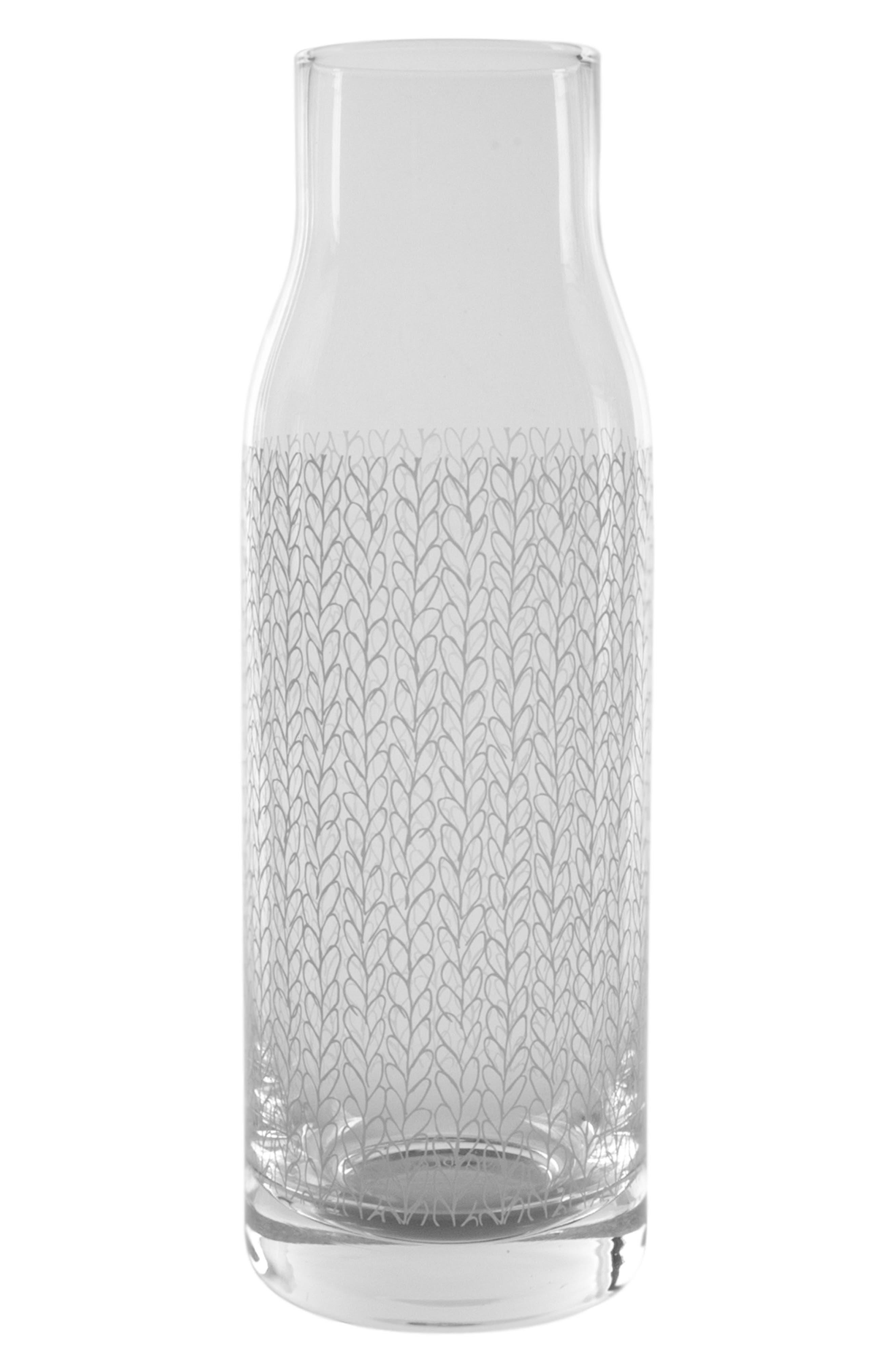 Glass Carafe,                             Main thumbnail 1, color,                             100