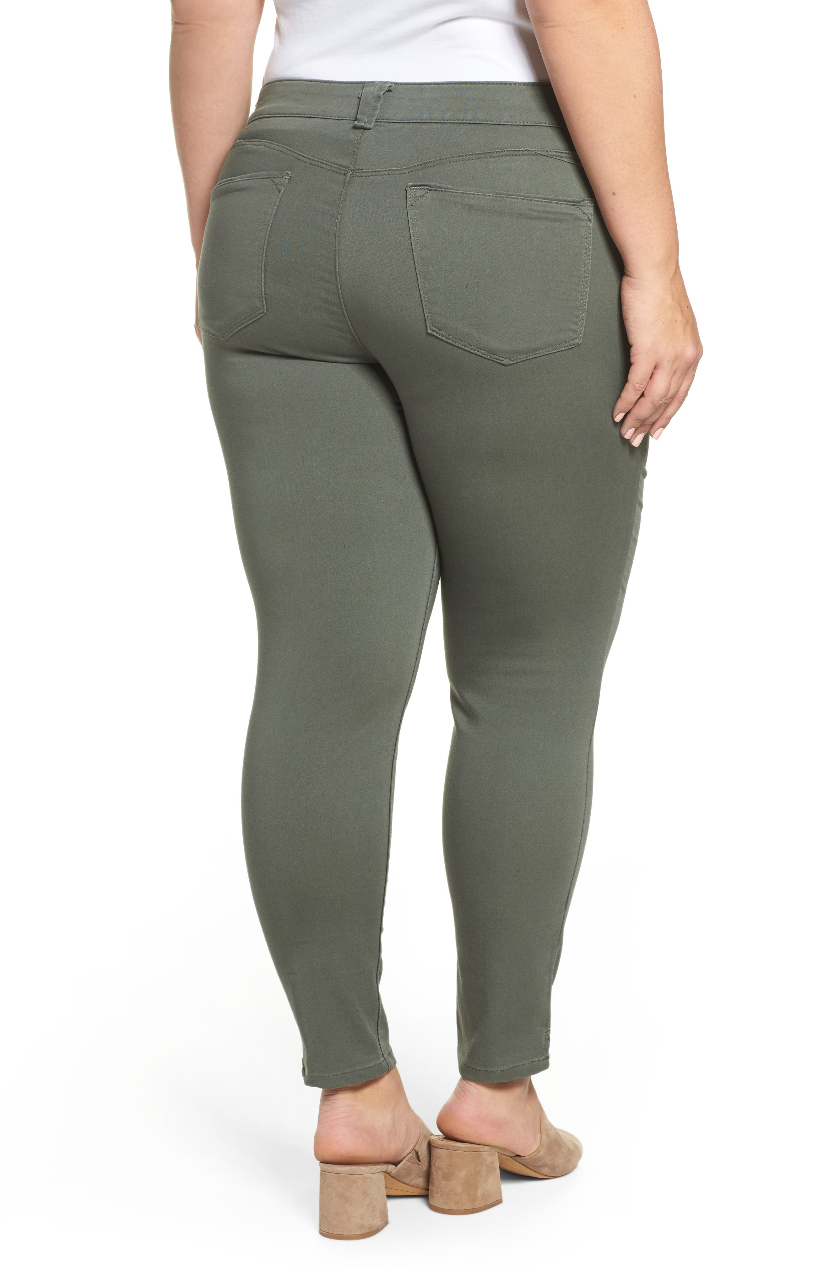 Ab-solution Ankle Pants,                             Alternate thumbnail 2, color,                             THYME