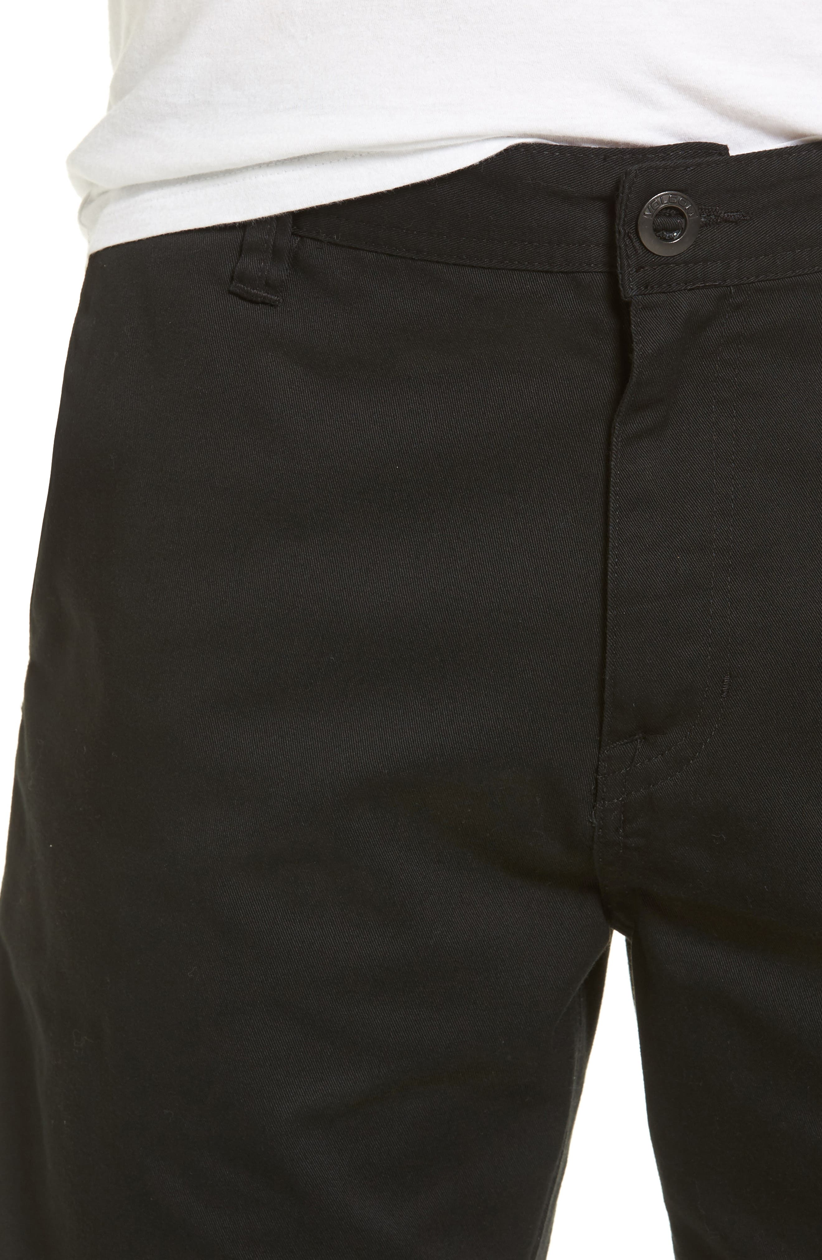 Modern Chino Shorts,                             Alternate thumbnail 4, color,                             001