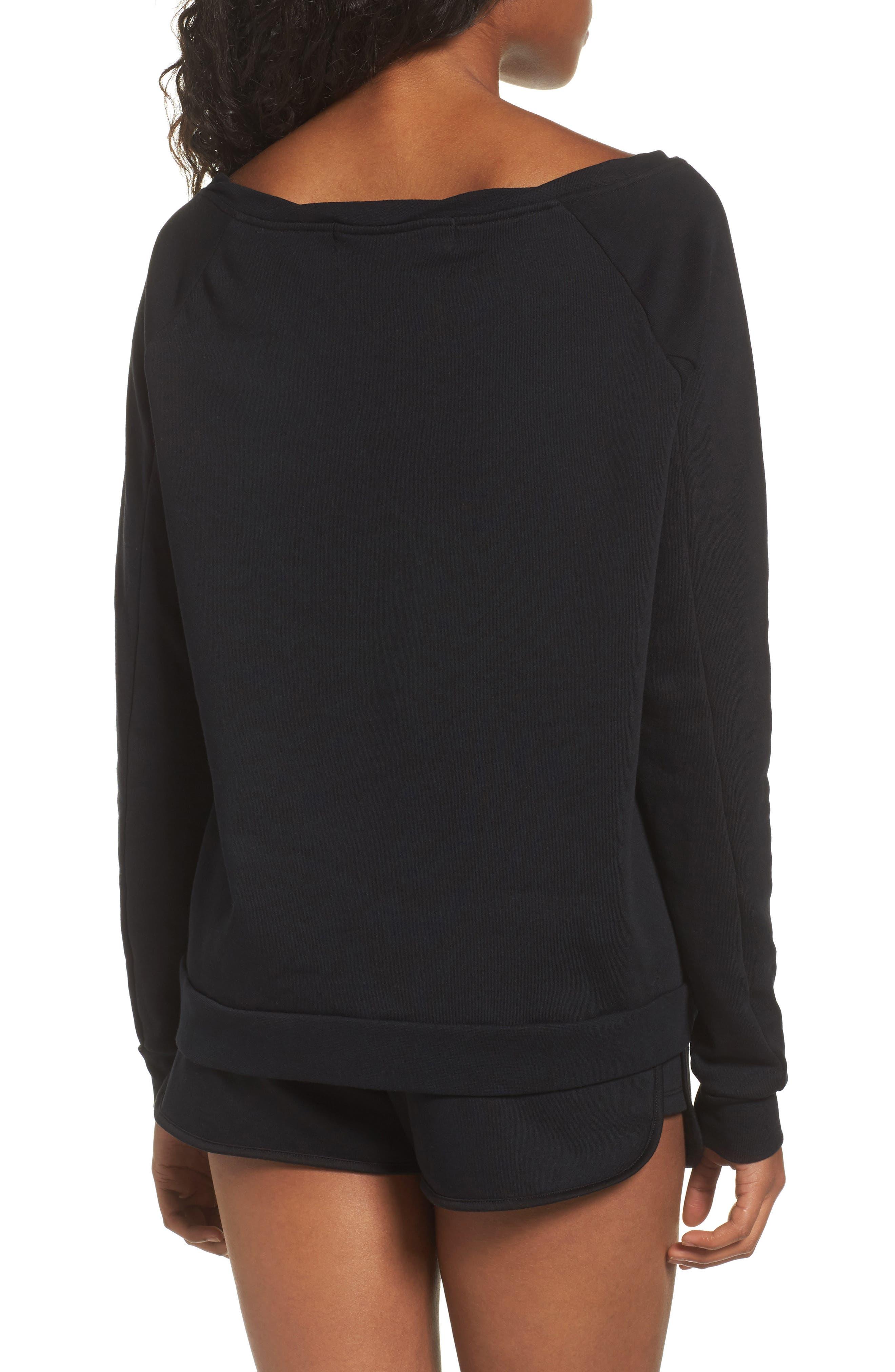 Cozy Lounge Sweatshirt,                             Alternate thumbnail 2, color,                             001