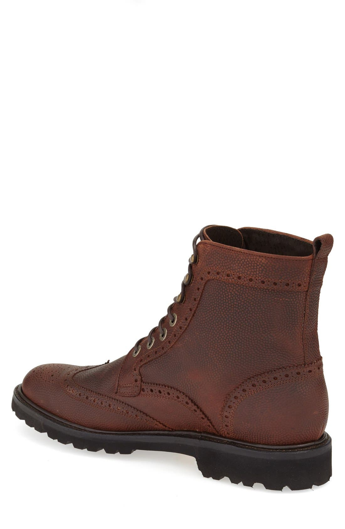 WOLVERINE,                             'Percy' Wingtip Boot,                             Alternate thumbnail 2, color,                             200