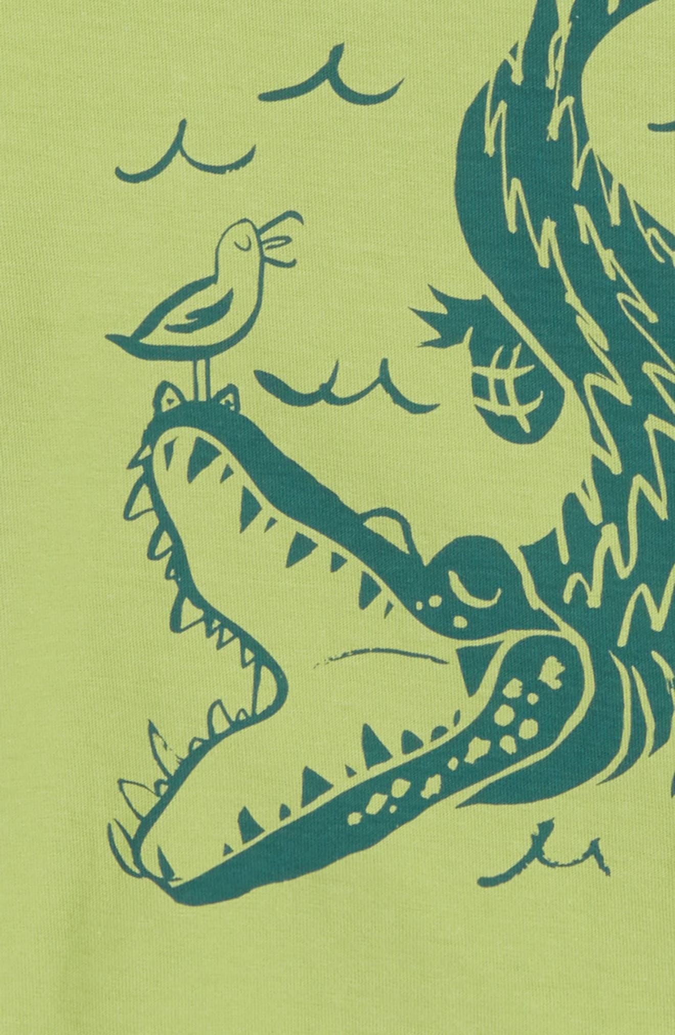 Alligator T-Shirt,                             Alternate thumbnail 2, color,                             372