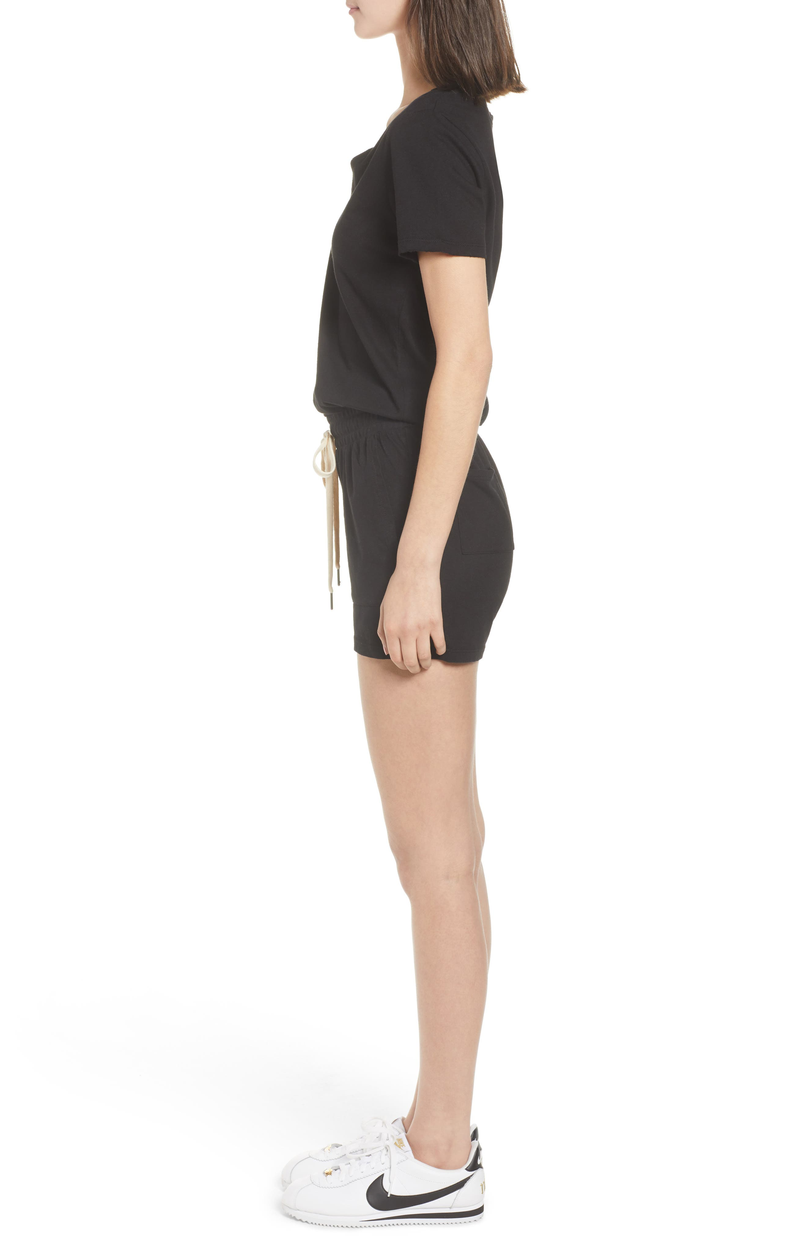 Breeze Cutout Romper,                             Alternate thumbnail 3, color,