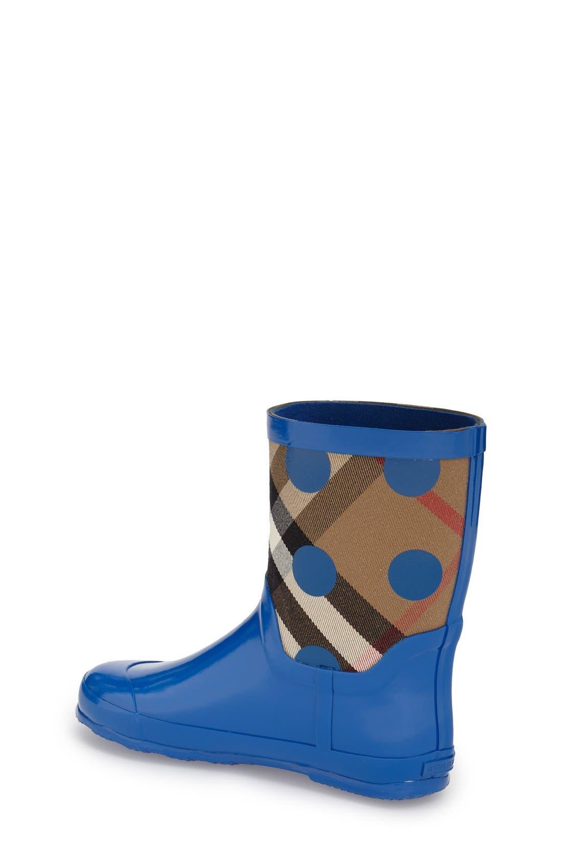 Ranmoor Waterproof Rain Boot,                             Alternate thumbnail 4, color,                             424
