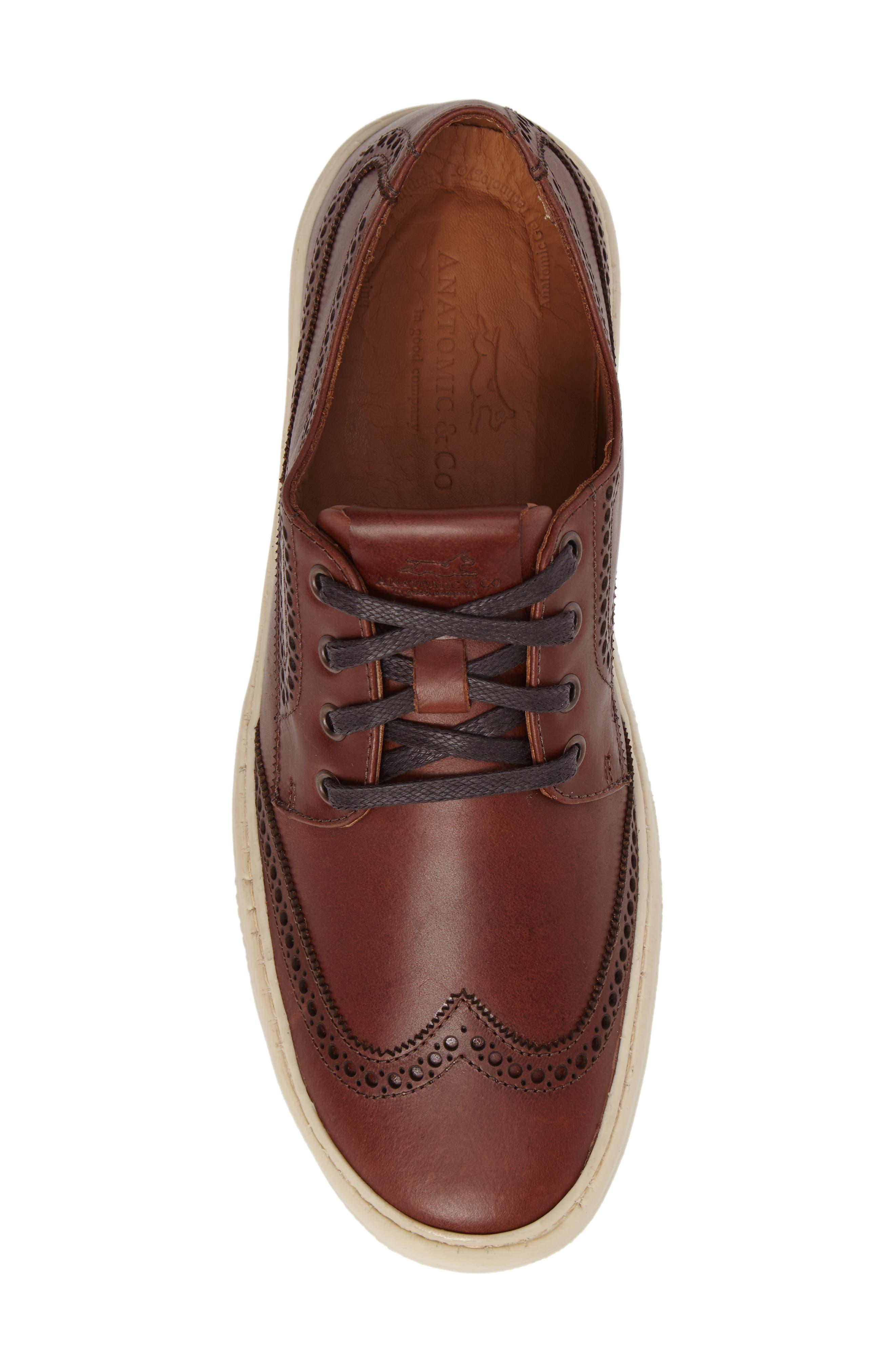 Bariri Wingtip Sneaker,                             Alternate thumbnail 5, color,                             200