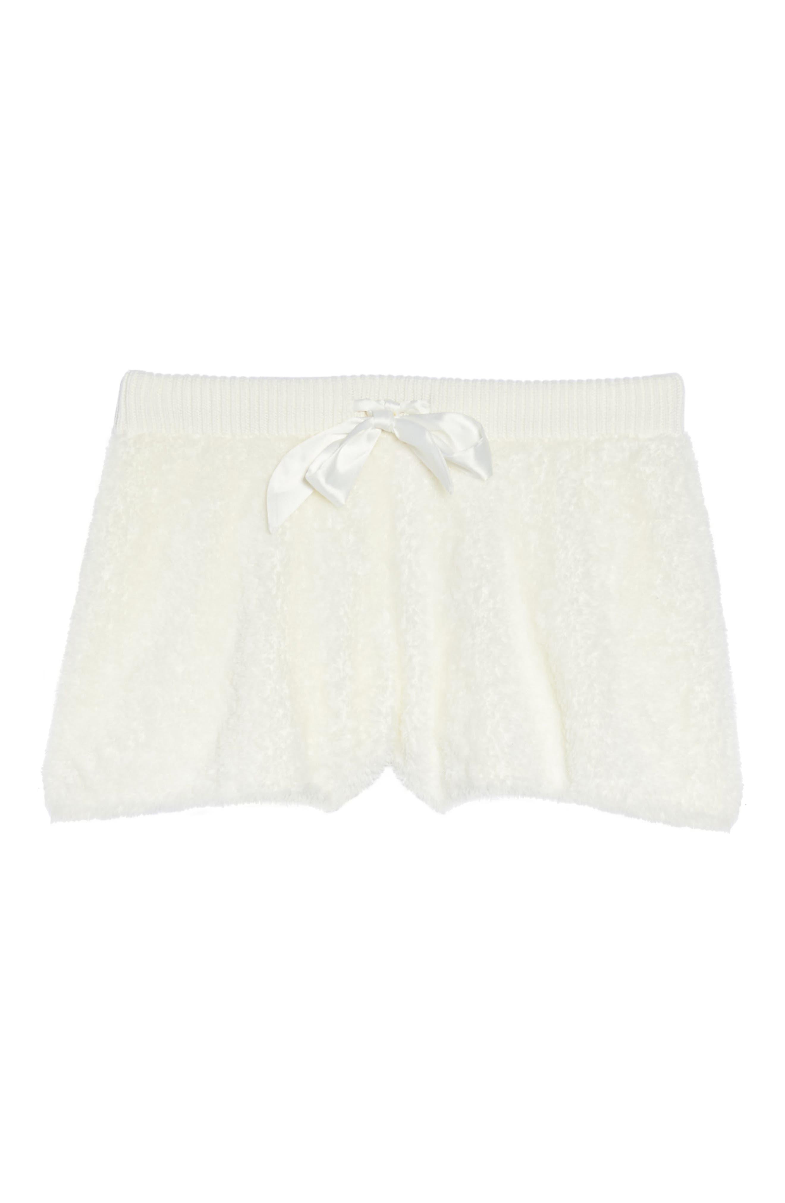 Fuzzy Lounge Shorts,                             Alternate thumbnail 32, color,