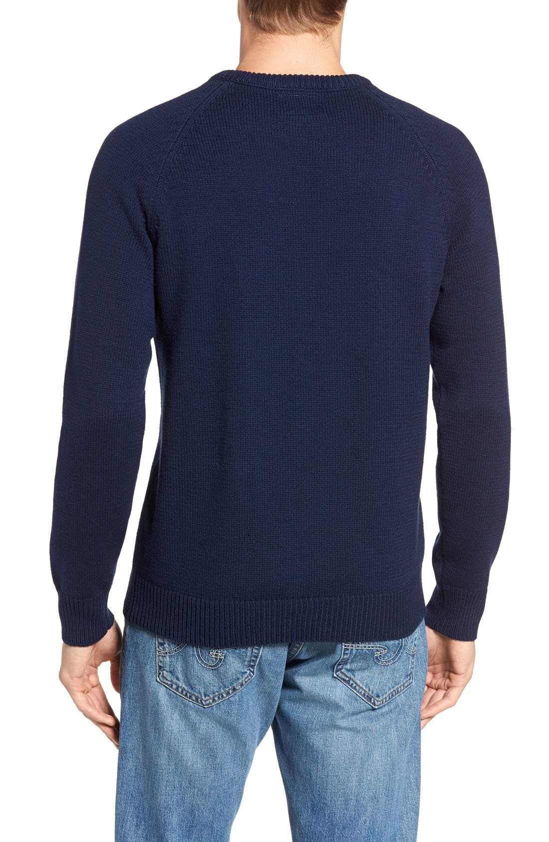 Yale Heritage Sweater,                             Alternate thumbnail 2, color,                             400