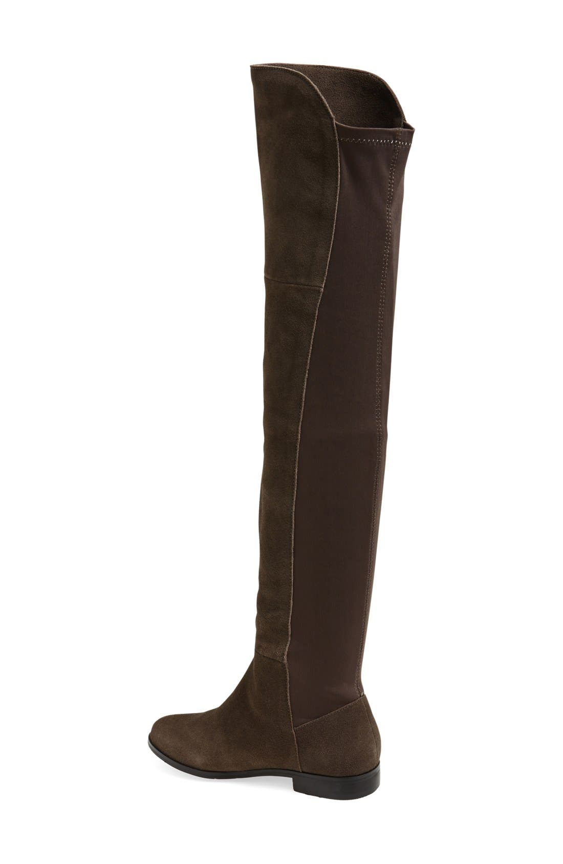 'Radiance' Over The Knee Boot,                             Alternate thumbnail 4, color,                             031