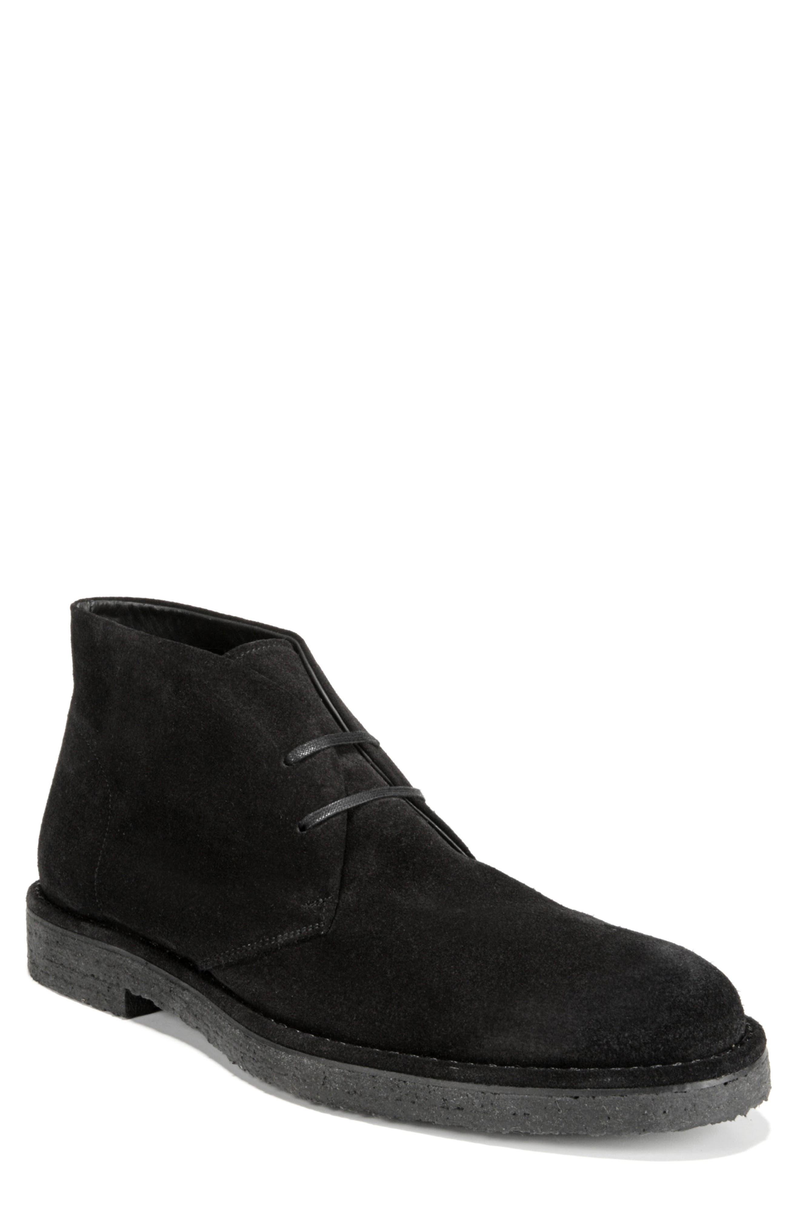 Crofton Chukka Boot,                         Main,                         color, BLACK